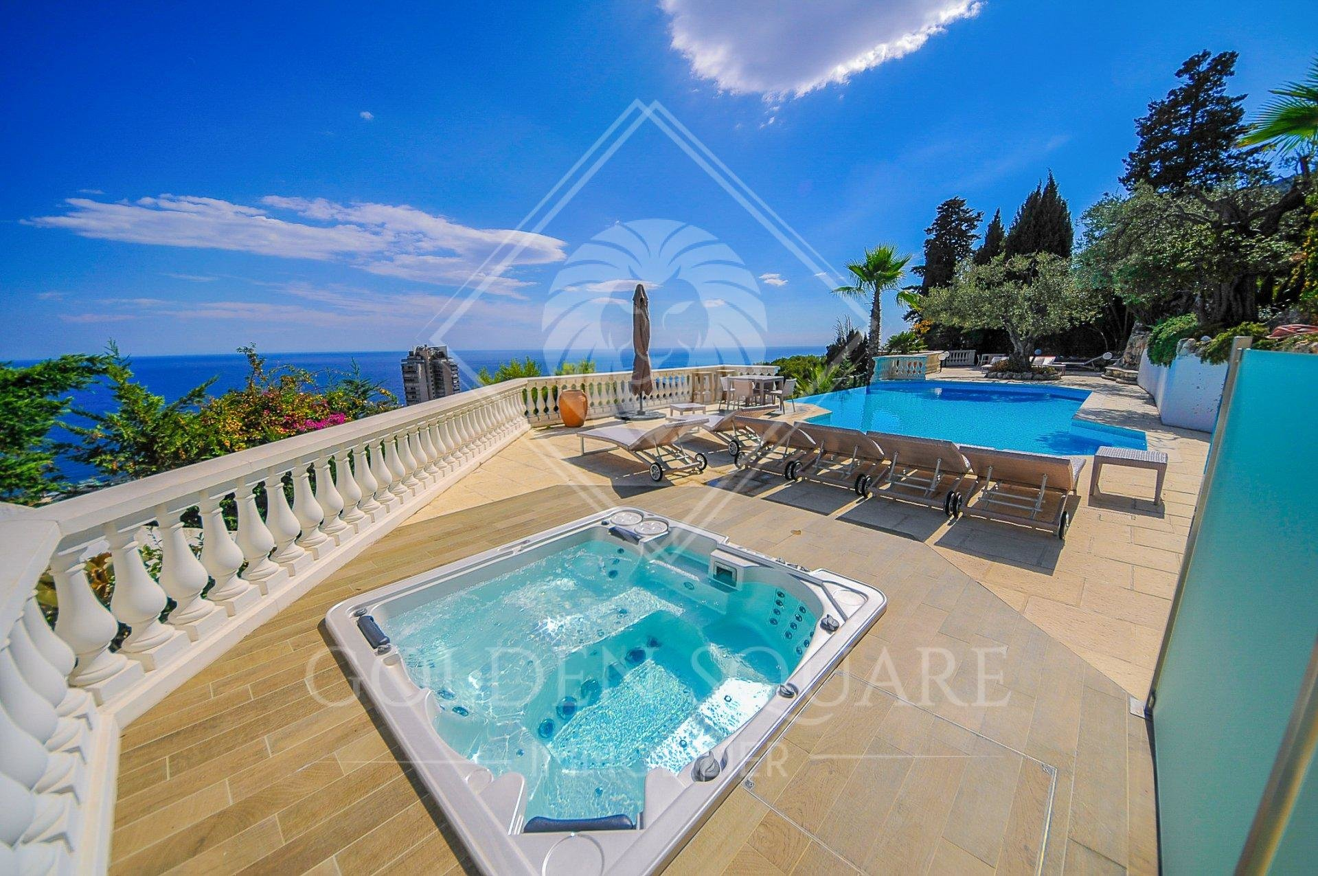 BEAUSOLEIL - LUXURIOUS 4 BEDROOM - PANORAMIC SEAVIEW