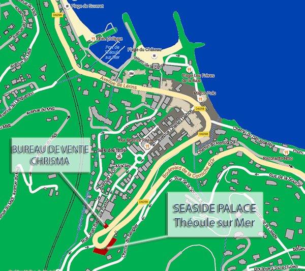 Seaside Palace - Bât A-24 - Théoule sur Mer