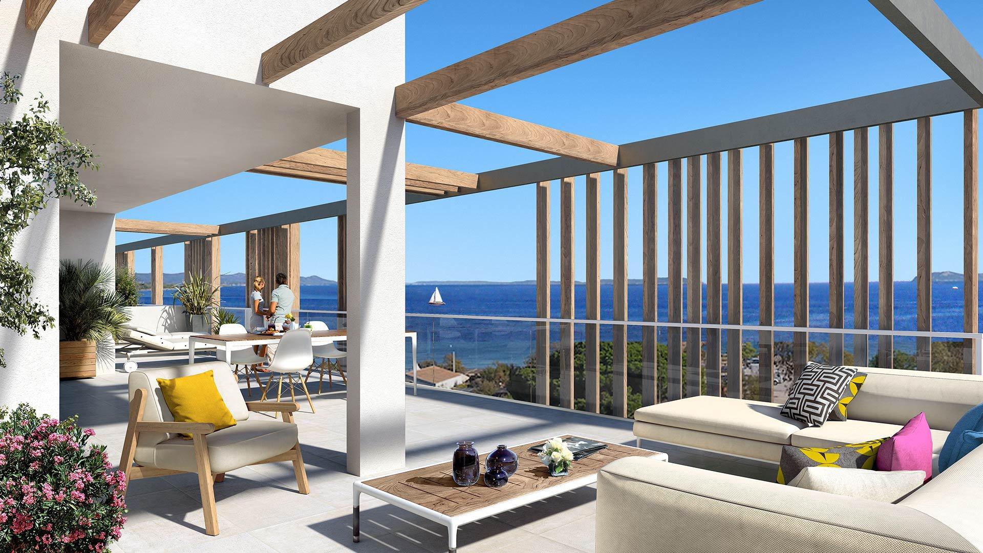 Vente Villa sur toit - Hyères