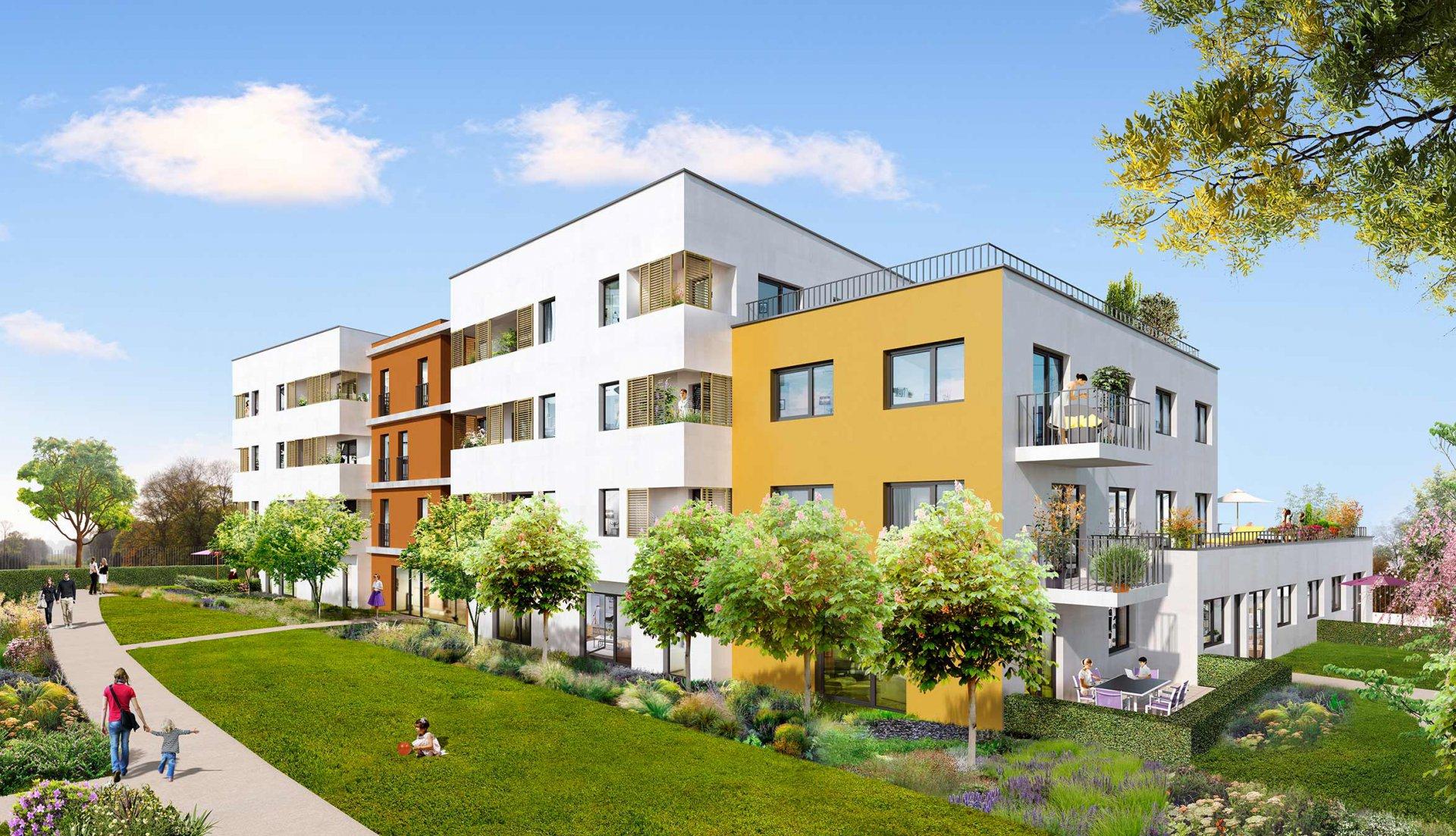 Programme Immeuble - Le Bourget