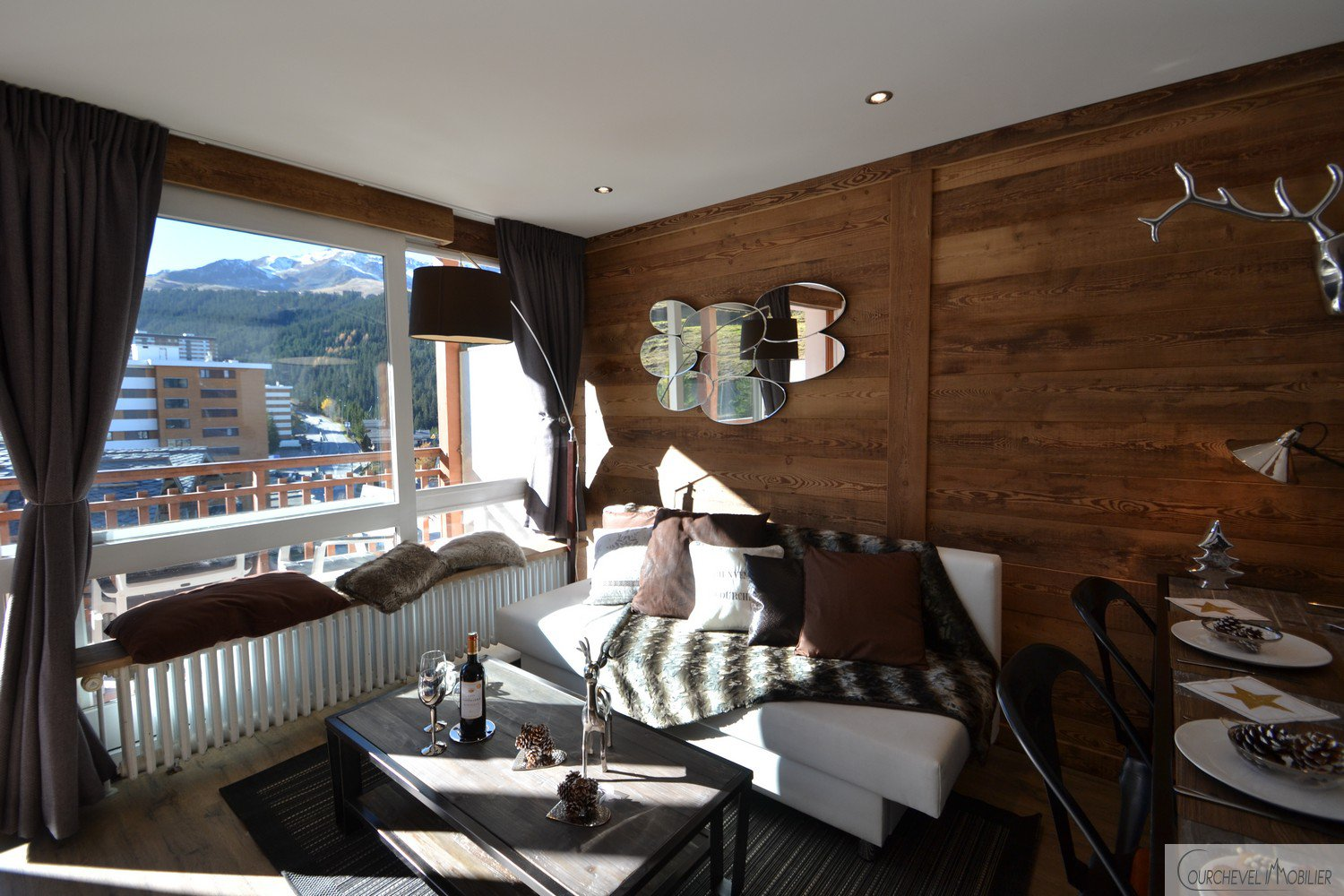 Courchevel Immobilier - Résidence 1650 - 2 bedroom apartment