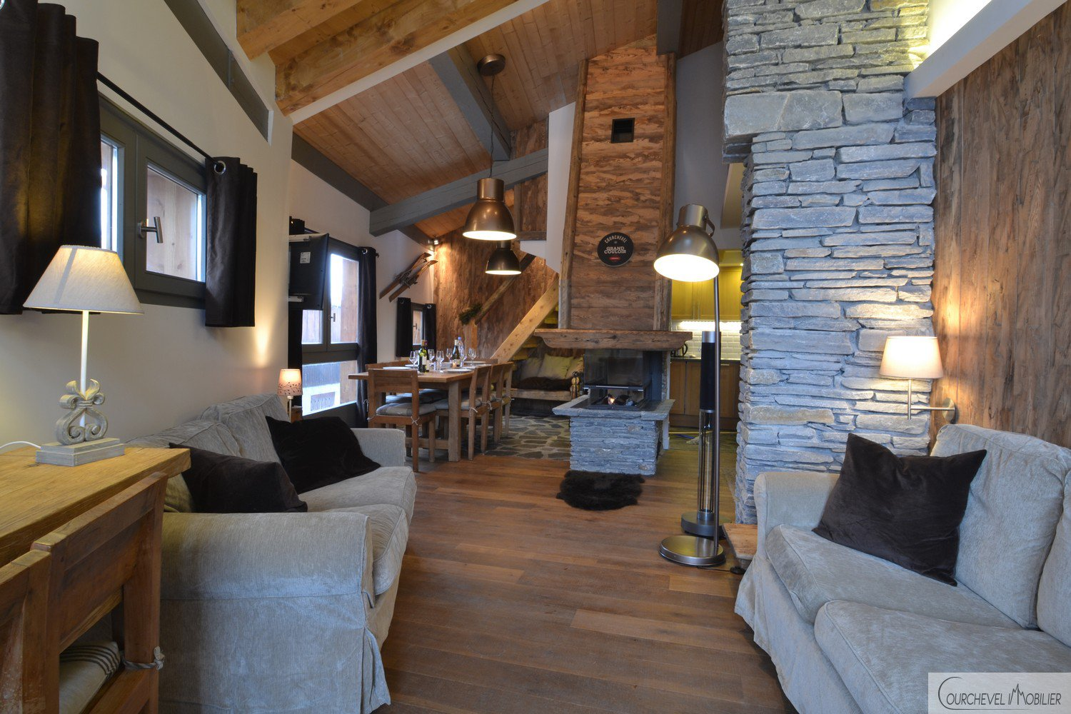 Chalet Le Petit Roi –  140 m² - 8/12 people - Courchevel Village