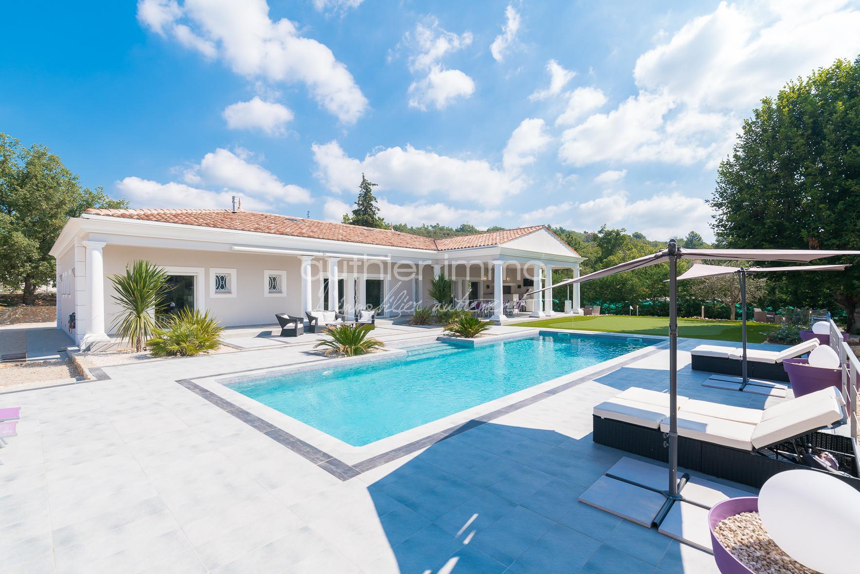 Vente Villa d'Architecte Arrière Pays Cannois