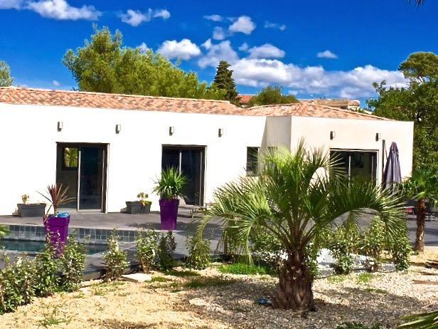 Sea side villa le Pradet Var Provence