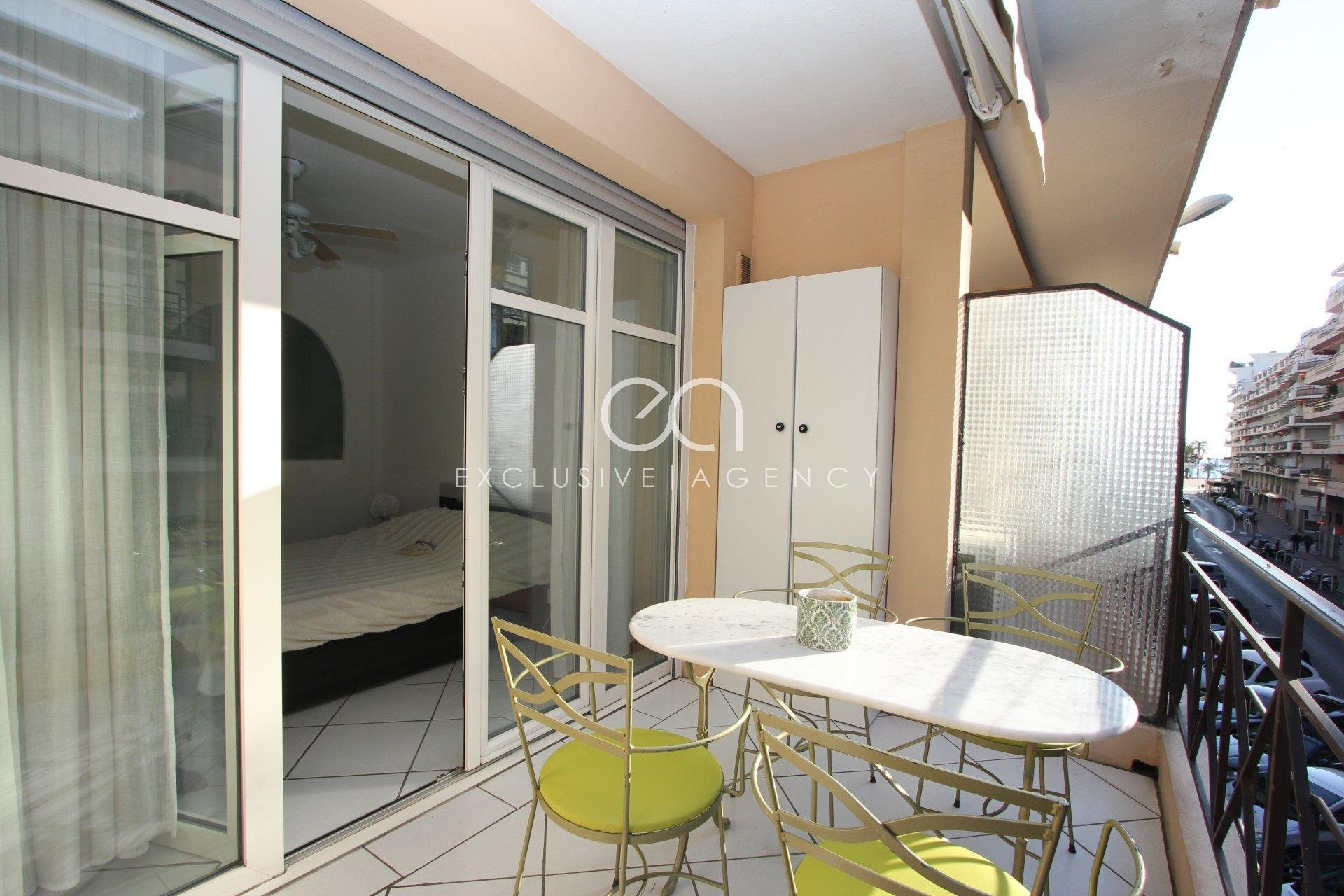 For sale Cannes 1-bedroom apartment of 42m² with terrace of 8,5m².