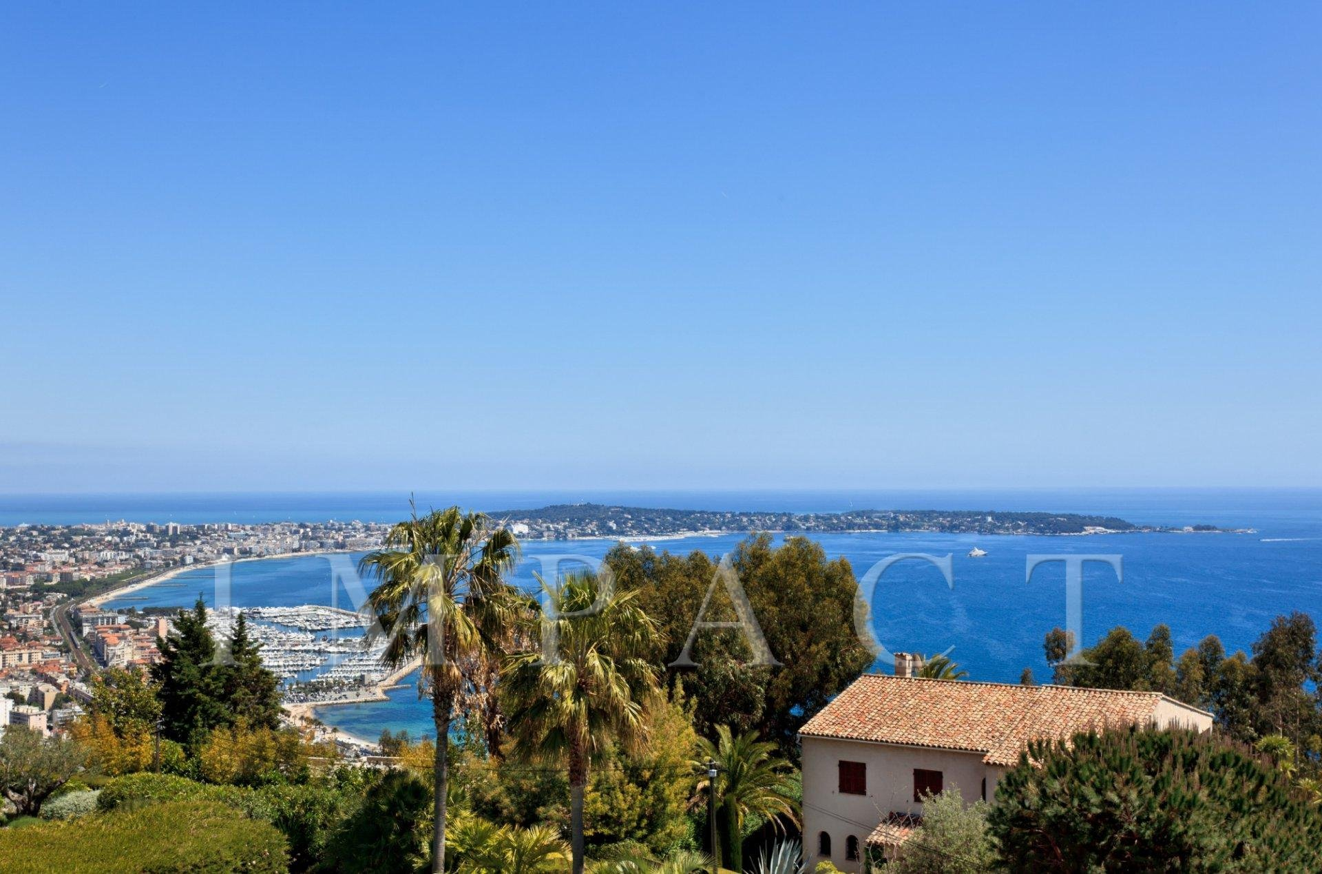 Prestigious villa to rent on the heights of Cannes
