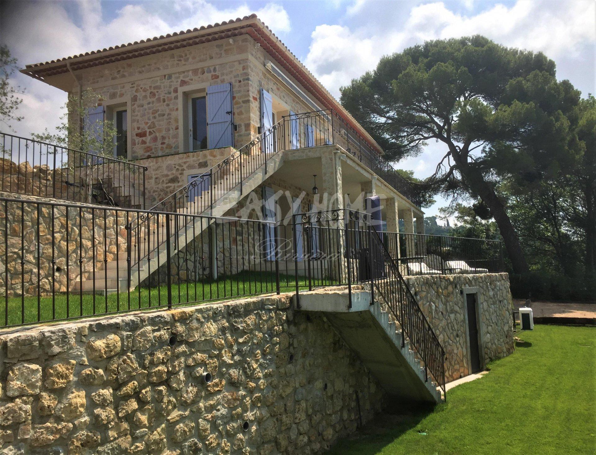 Rent Villa French Riviera sea view
