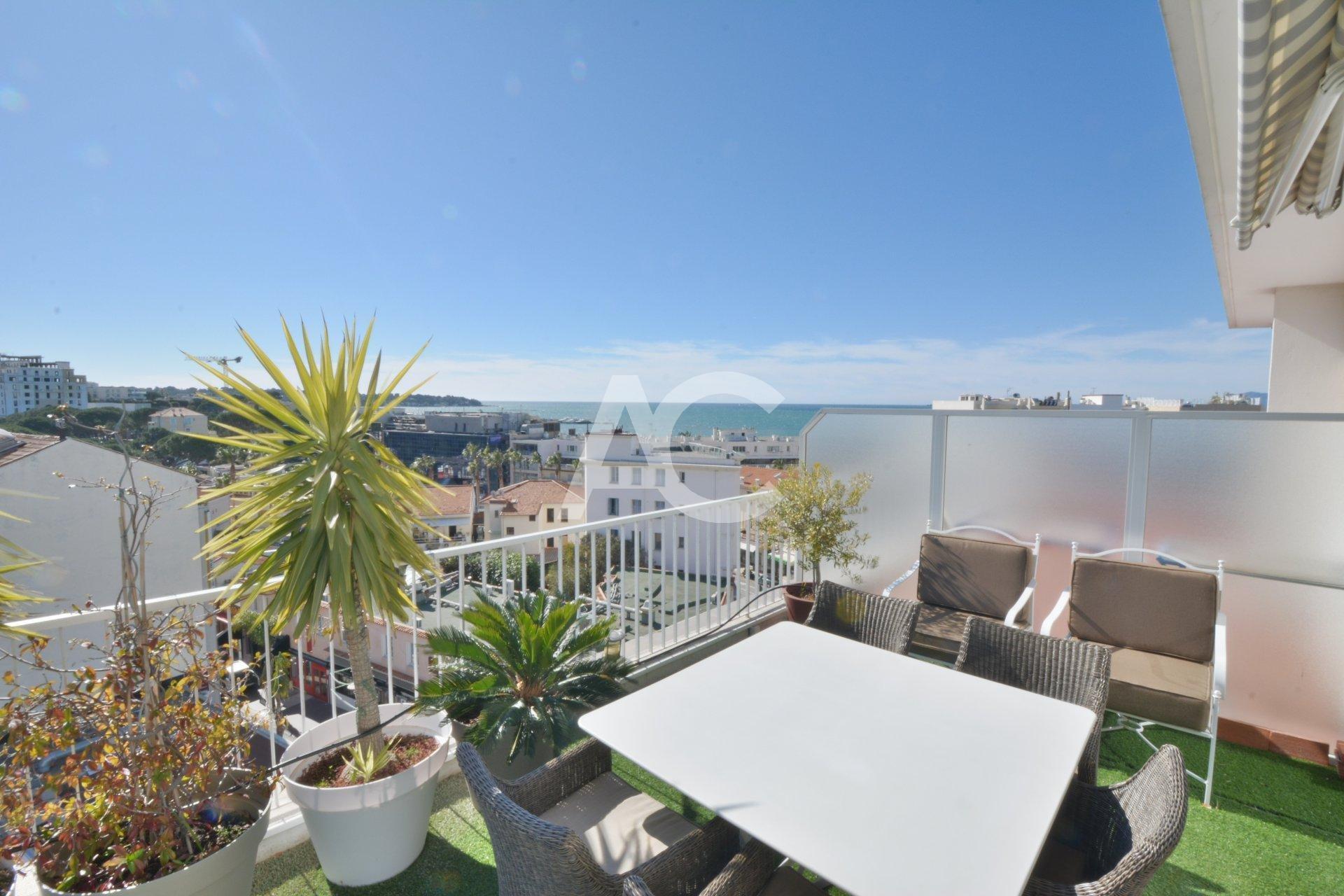 Penthouse 4 pièces - Vue mer - Terrasse 88 m²