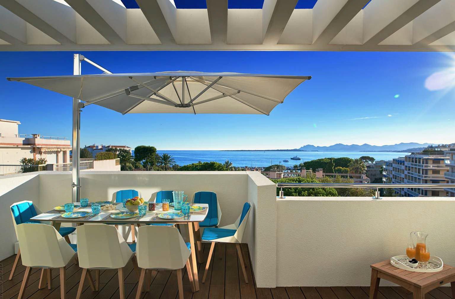 Luxueuse résidence à pied des plages - 2 pièces