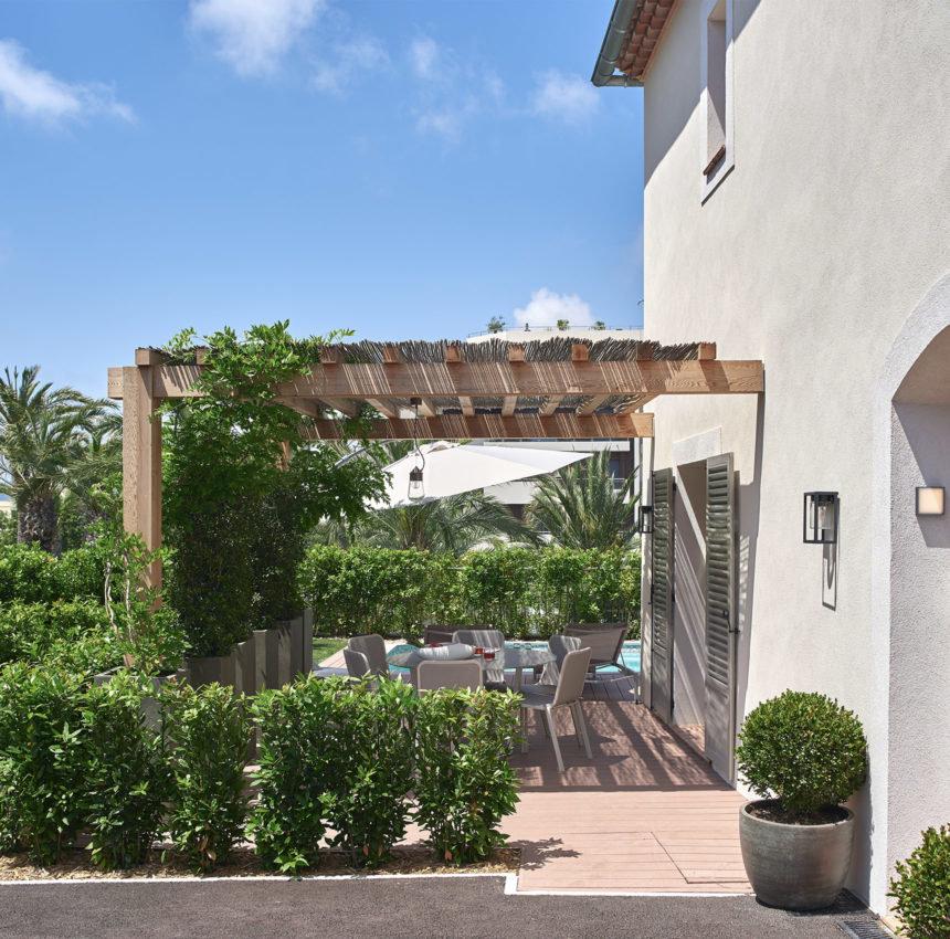 Villa dans une résidence neuve à pied des plages Cap d'Antibes
