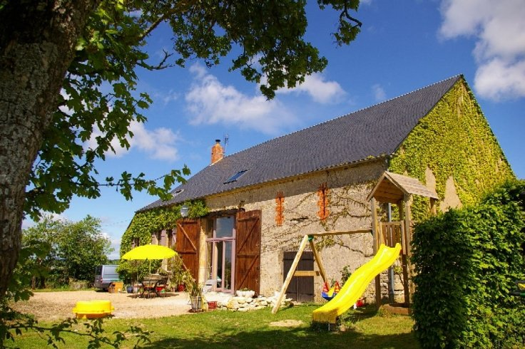 Large house for sale in Burgundy Morvan