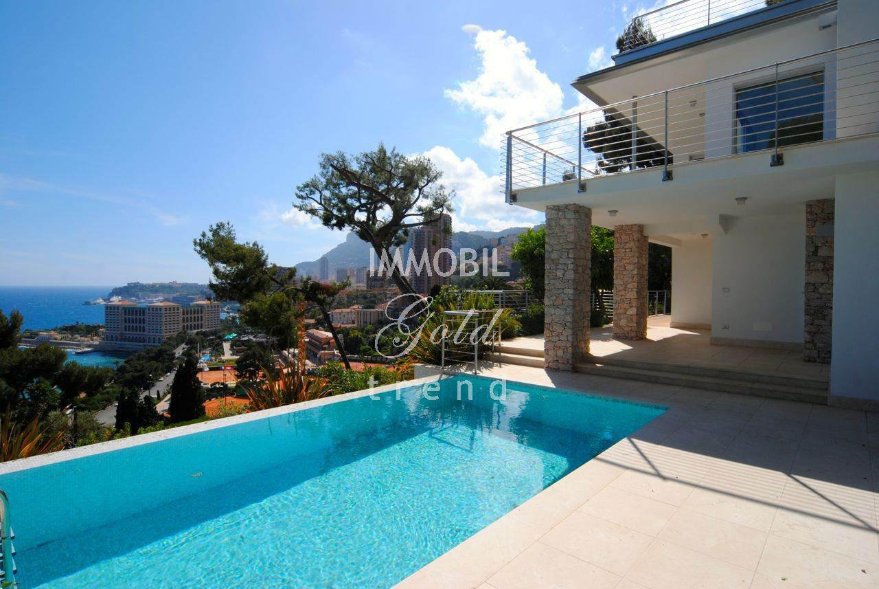 Roquebrune Cap Martin Real Estate | For sale, exceptionnal Villa in Saint Roman area