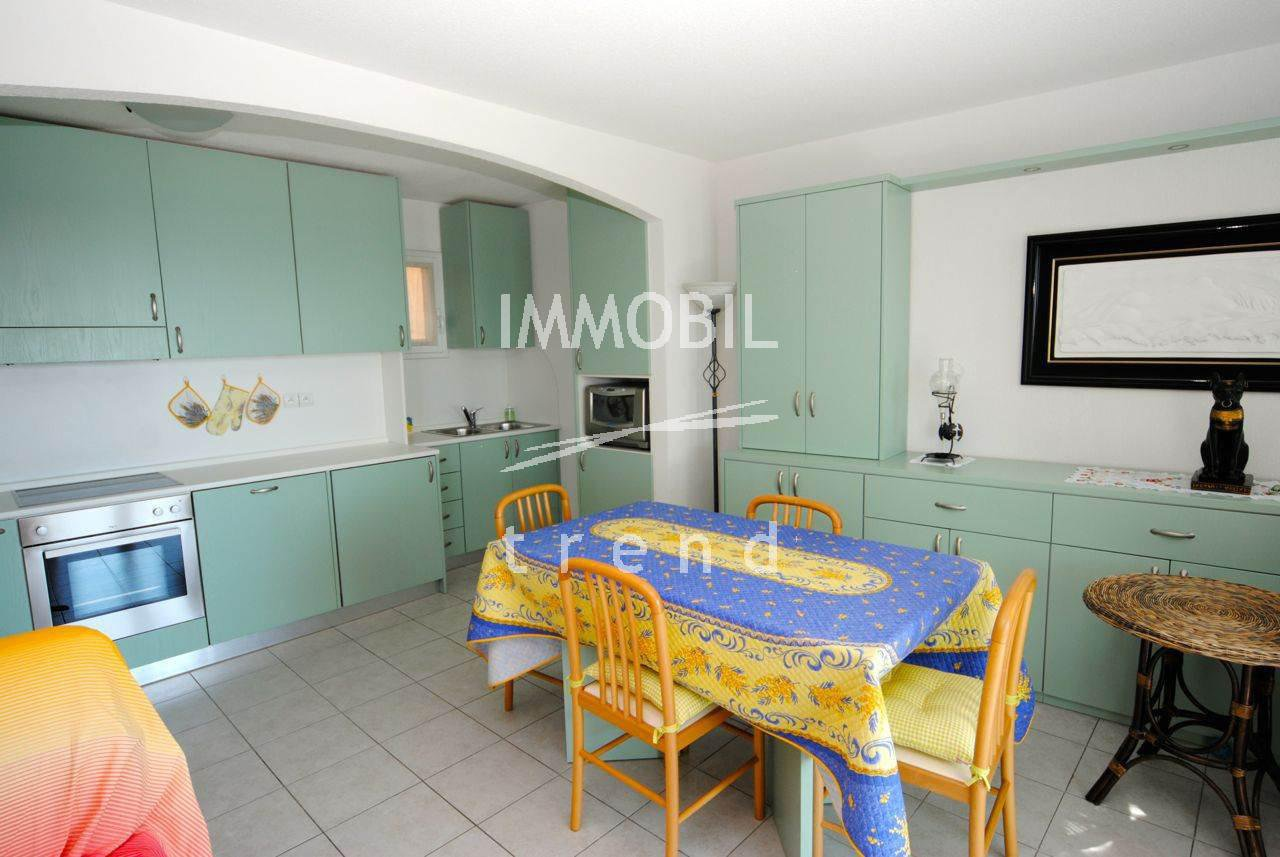 Menton Real Estate - For sale, seafront two bedroom apartment .