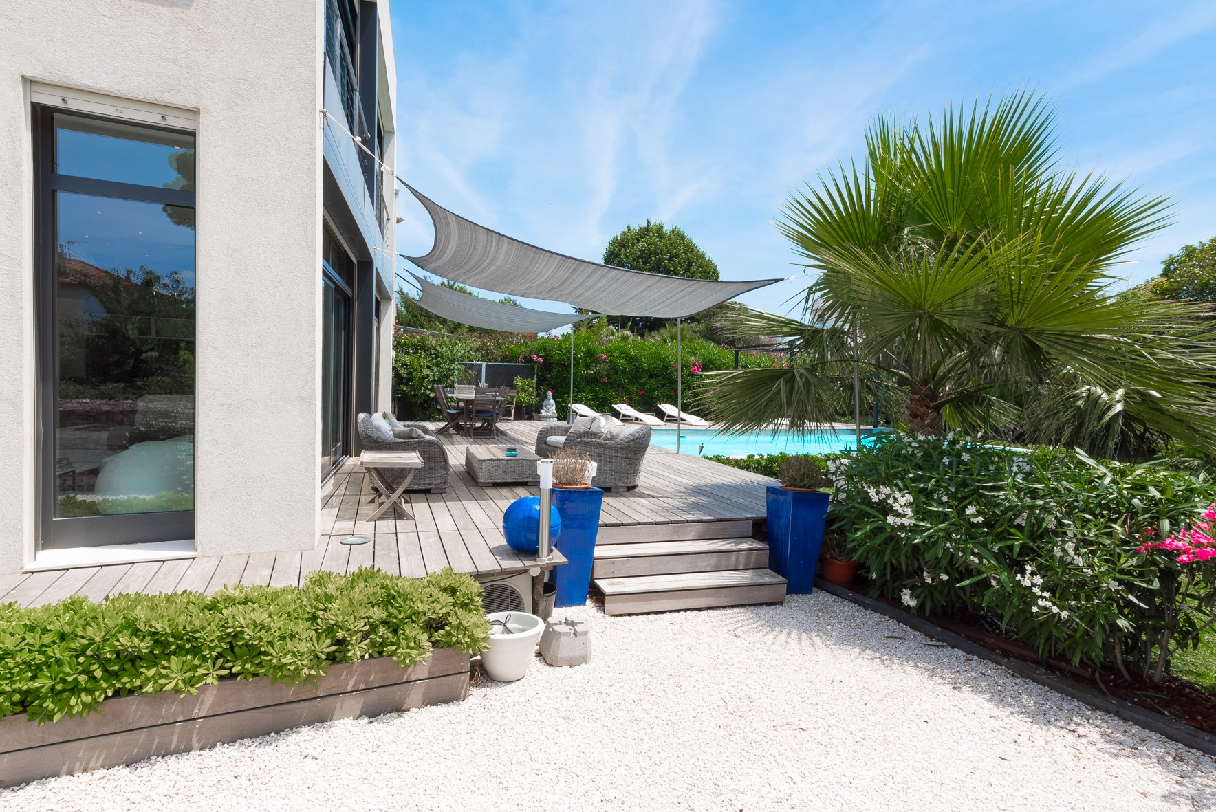 Congress rental house close center of Cannes swimming pool garden