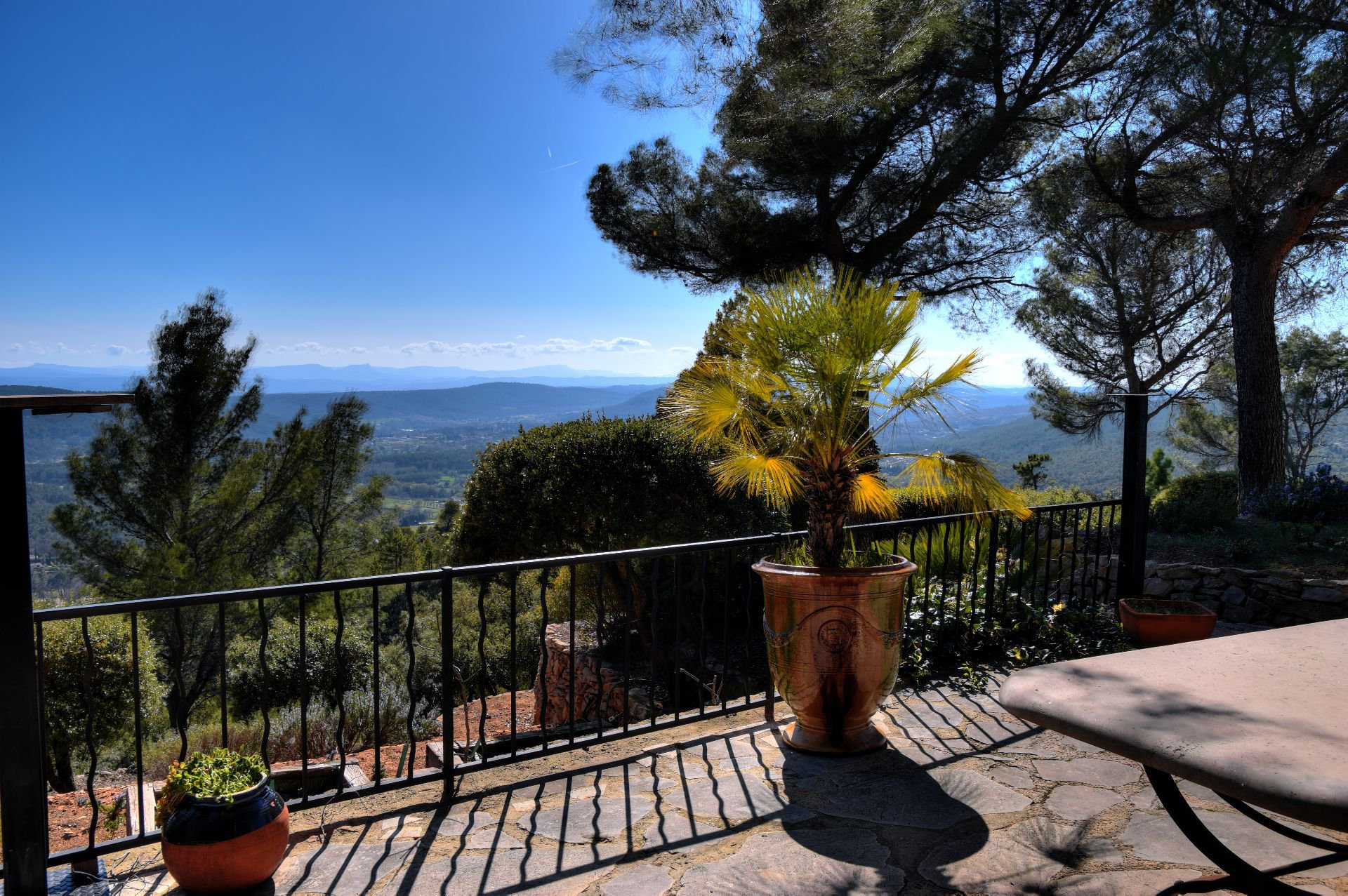 Property in the sky ... Tourtour, Var, Provence
