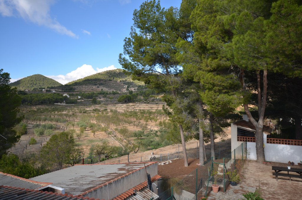 L'Oliveira, a good looking standalone 5 bedrooms villa in a charming village of the province of Alicante