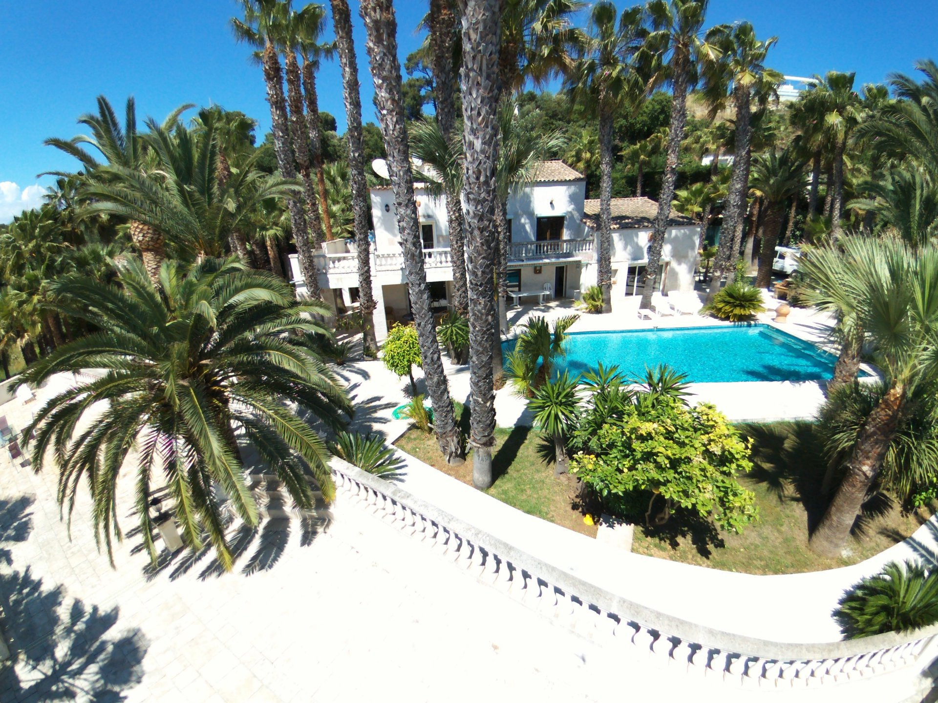 VILLA WITH A PALM GROVE BIOT HEIGHTS