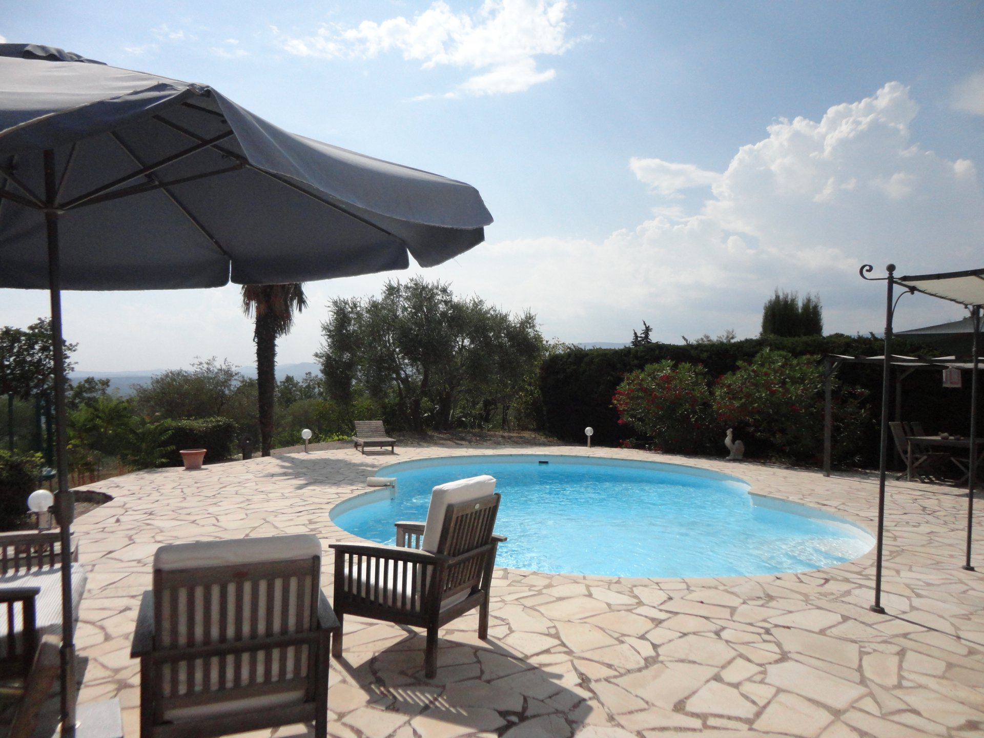 Montauroux Villa with view and a pool