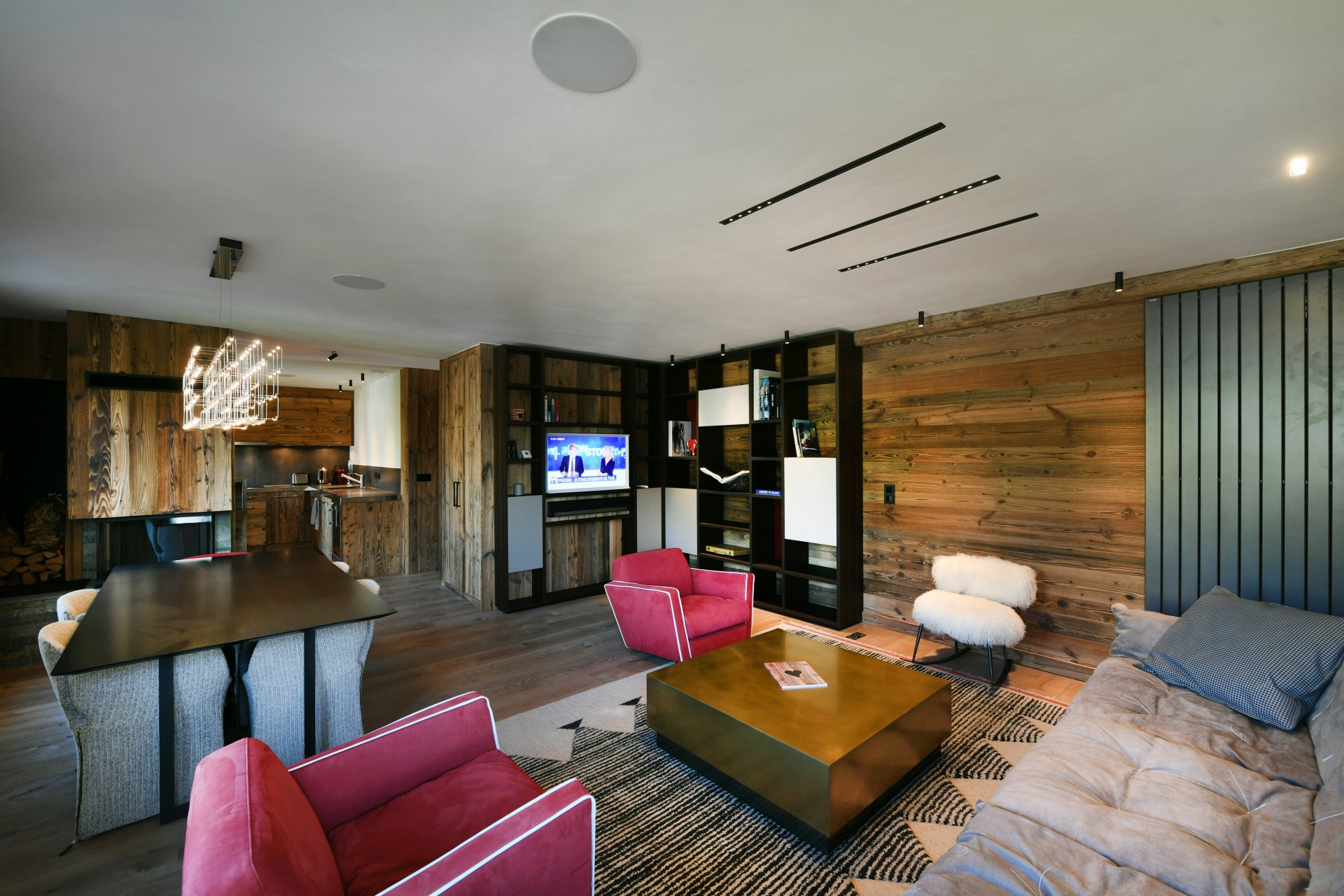 Apartment Wood Chalet in Megeve
