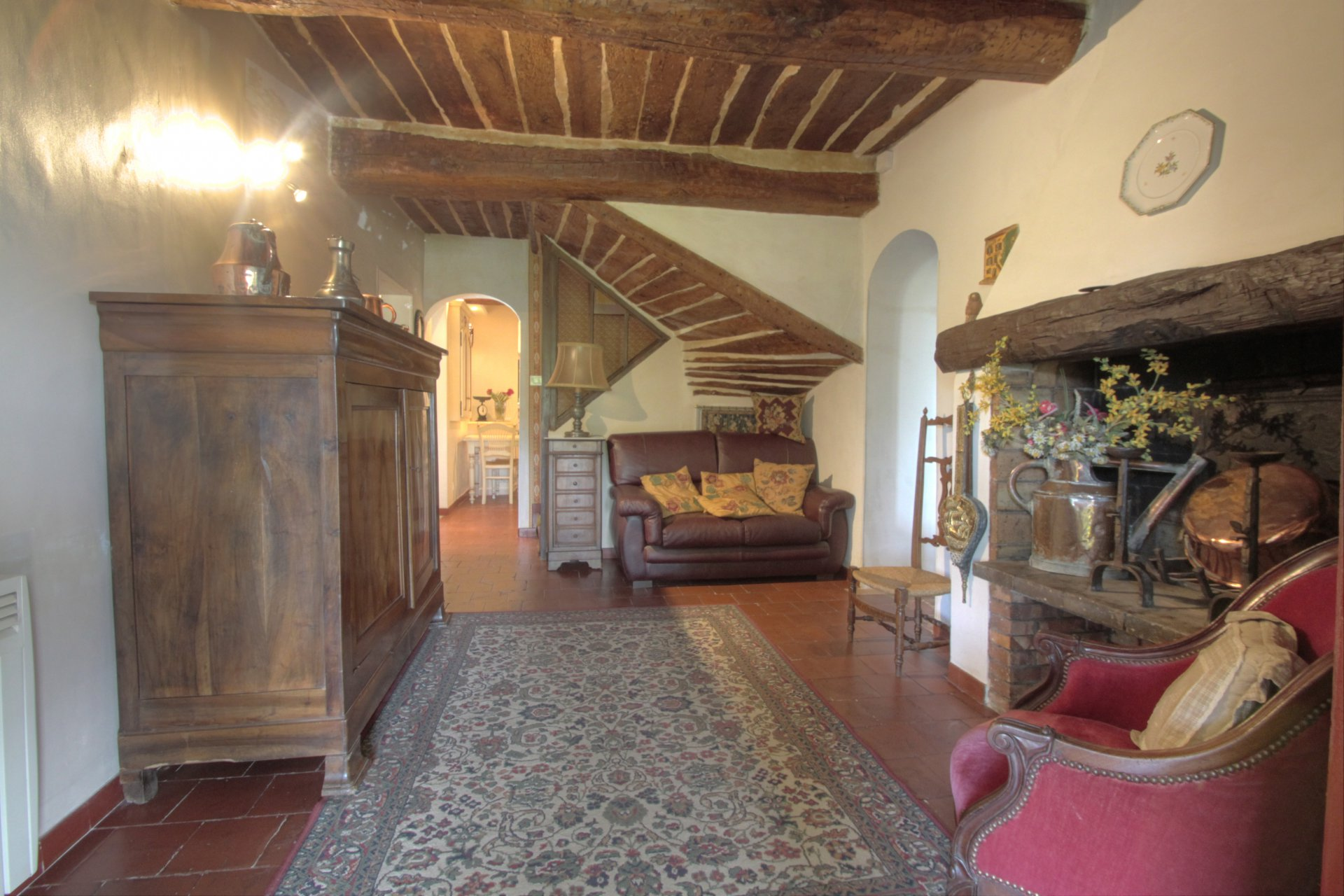 Above La Colle, charming 18th century farmhouse