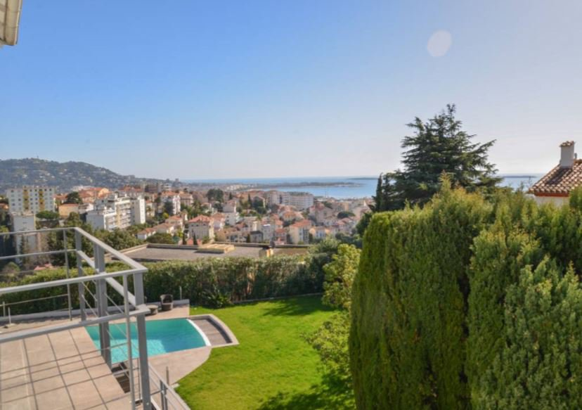 BEAUTIFUL VILLA HIGH STANDING WITH SEA VIEW IN CANNES
