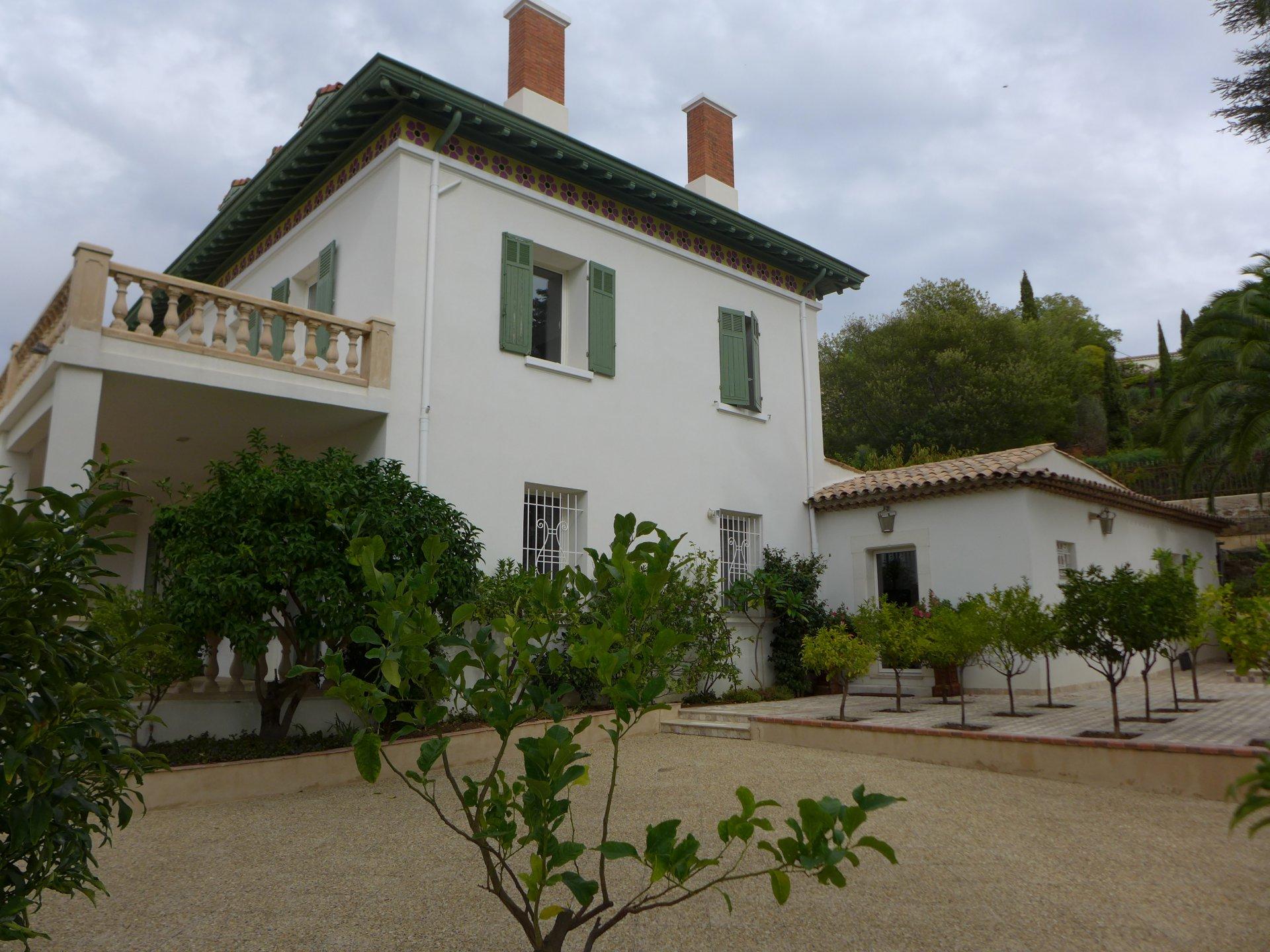 Prestigious property with sea view la Croix Valmer Var Provence