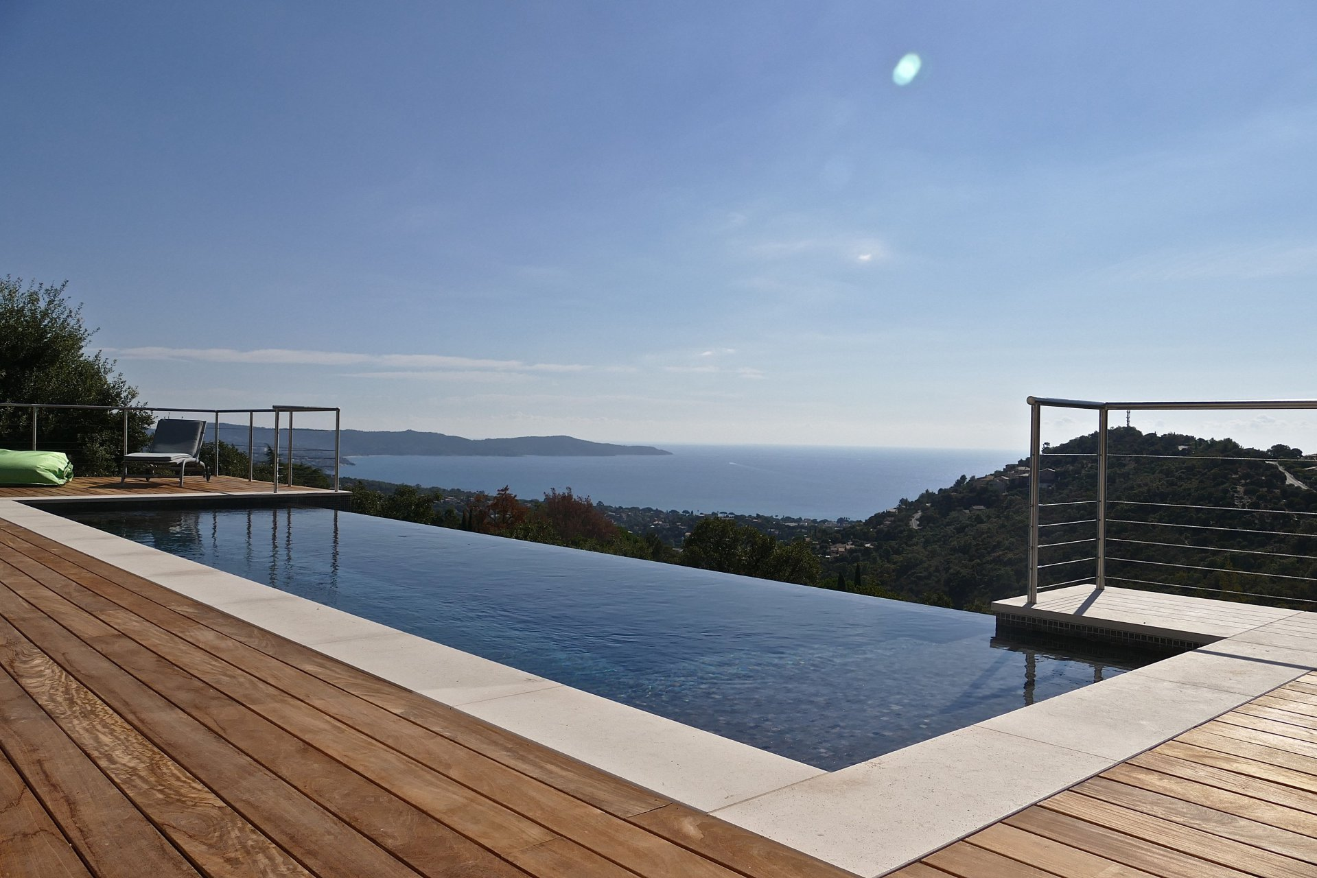 Contemporary house with stunning sea view Cavalaire sur Mer Var Provence