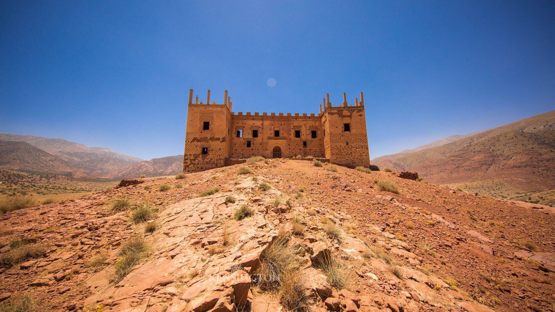 KPPM00974: Kasbah Tagountaft Villa de luxe Marrakech Maroc