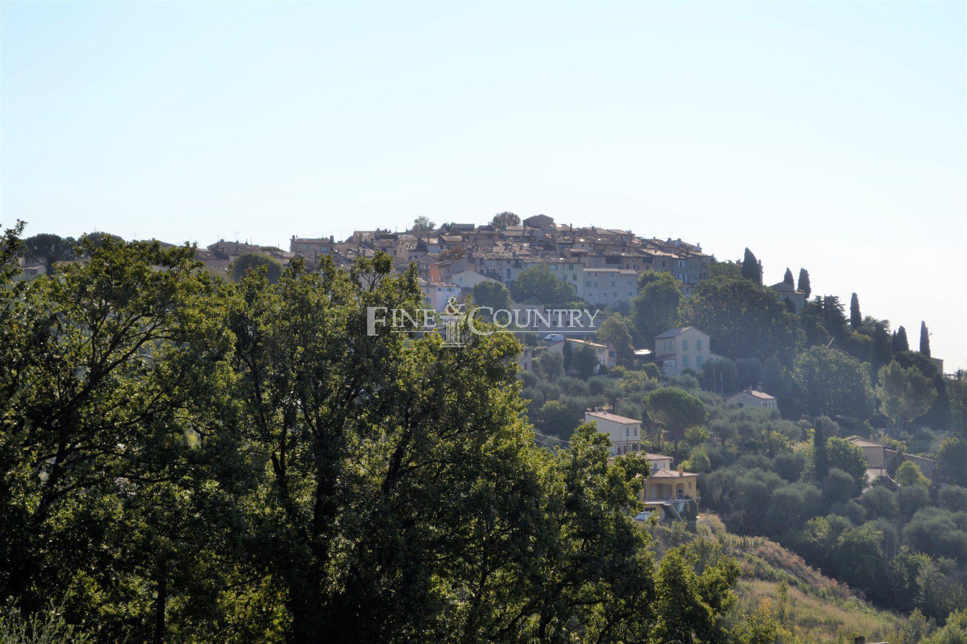Panoramic views, Cabris