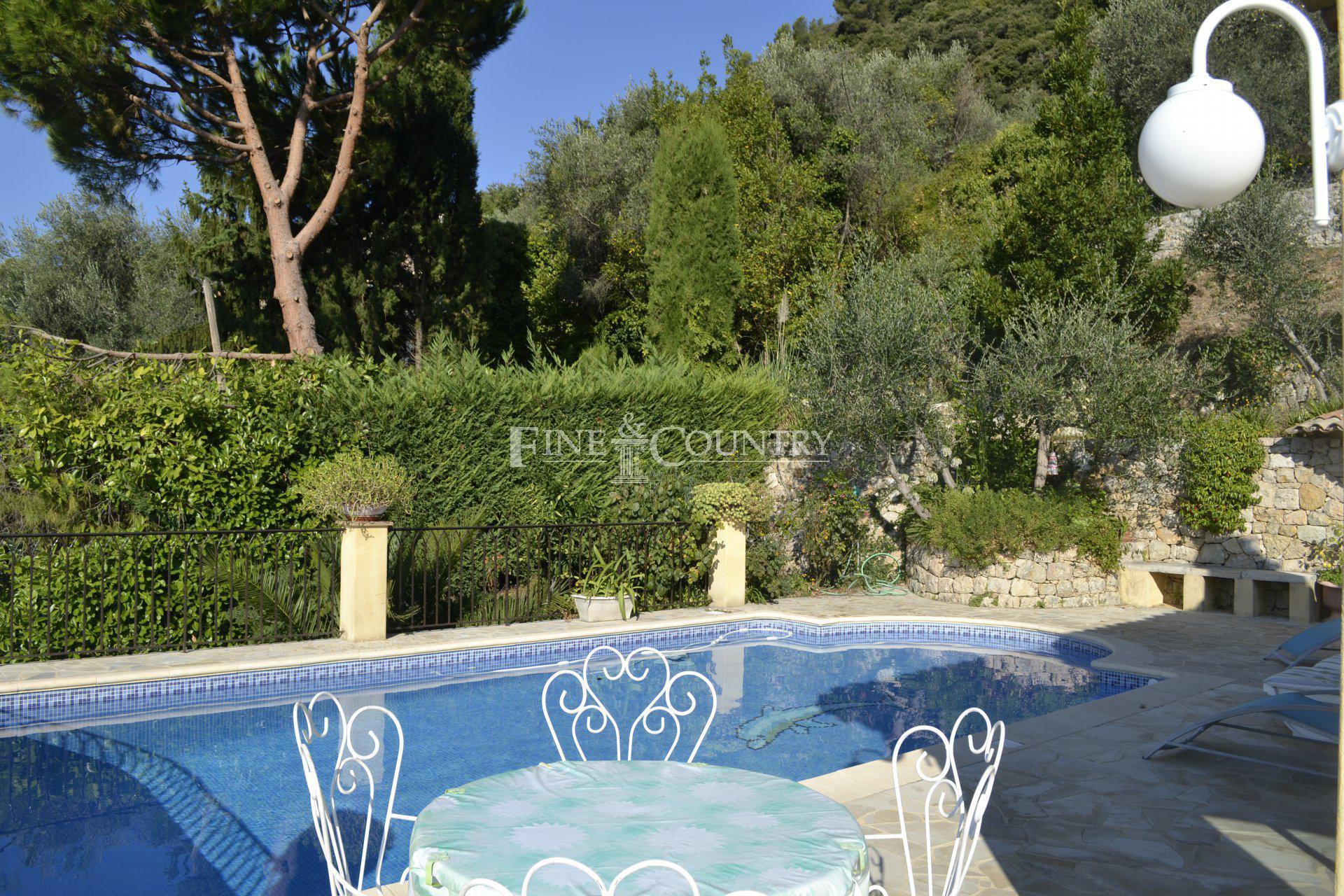 Villa with sea view for sale in Cabris, Côte d'Azur