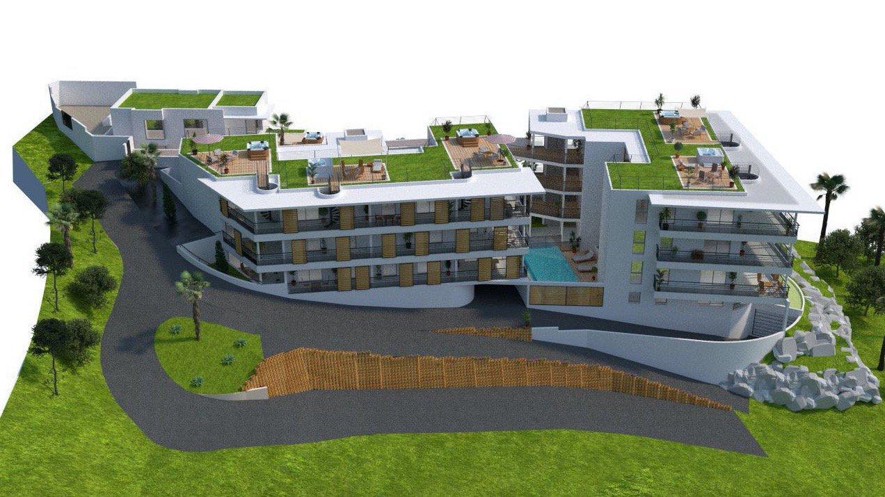 CANNES - French Riviera - Unique 2 bed top floor apartment near center town & Croisette