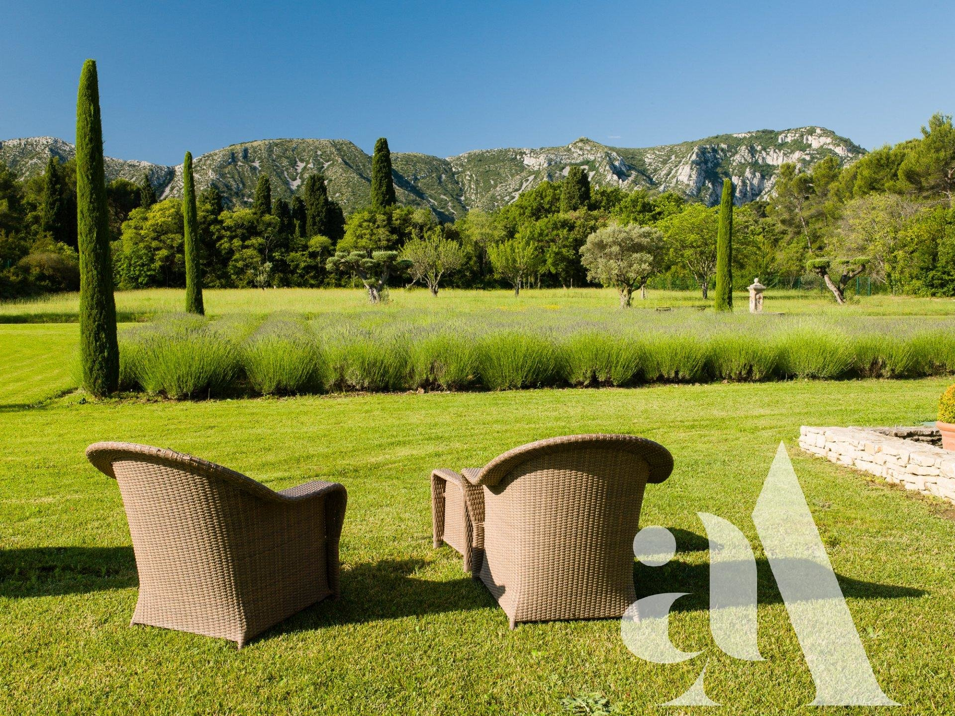 Country house in the Alpilles- Saint Rémy de Provence - 6 BEDROOMS - 12 PEOPLE