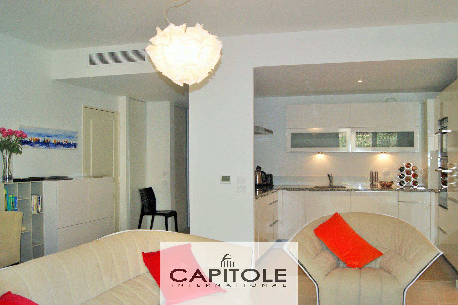 For sale,  Antibes Albert 1er, luxurious 2 bedroom apartment, large terrace