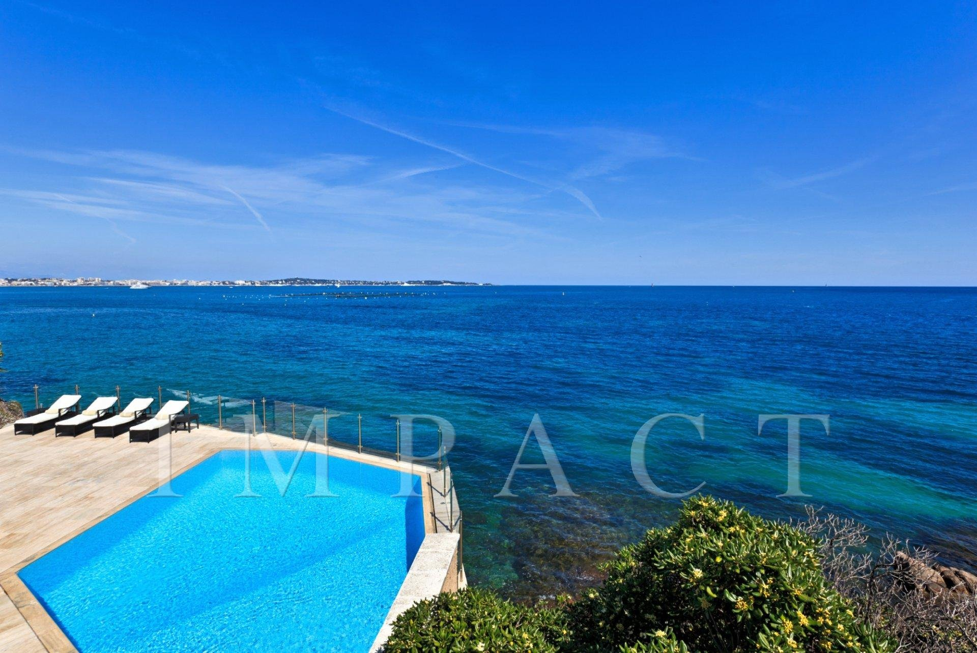 Waterfront Villa Cannes to rent