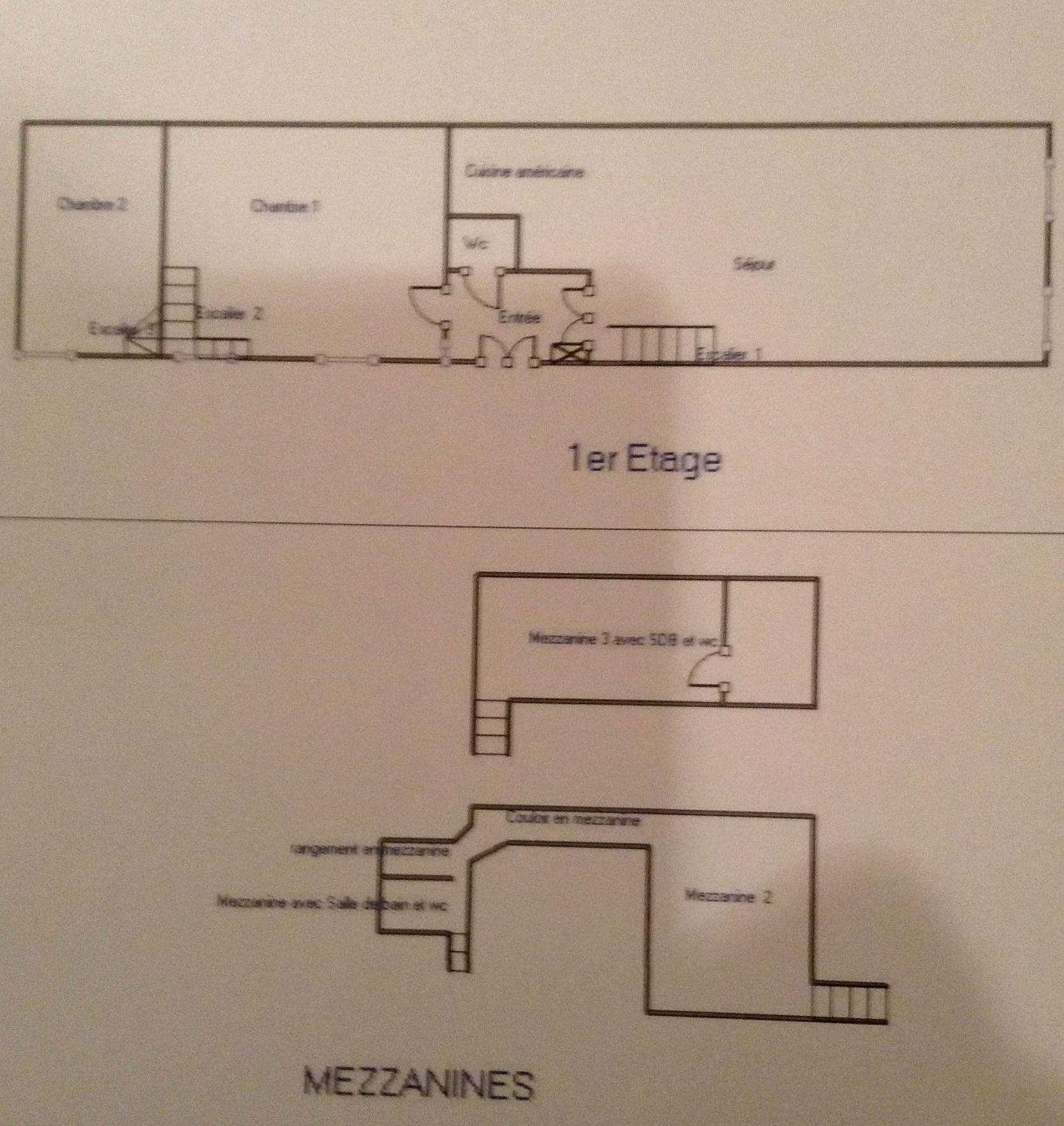 SAINT GERMAIN DES PRES Paris 6e, appartement avec volumes