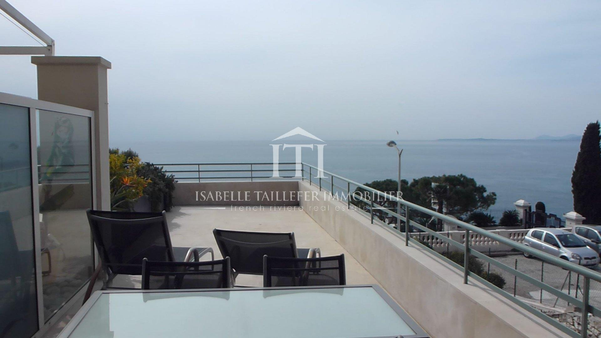 NICE MONT-BORON - Apartment of 75m² - sea view and terrace