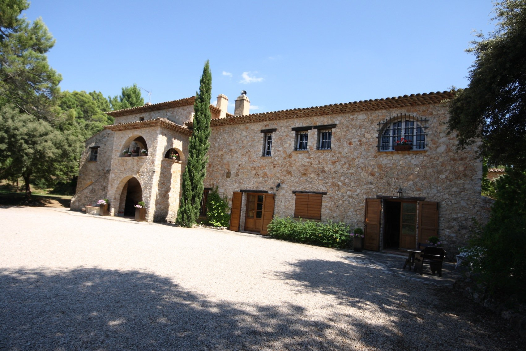 Correns, lovely village in the heart of Green Provence