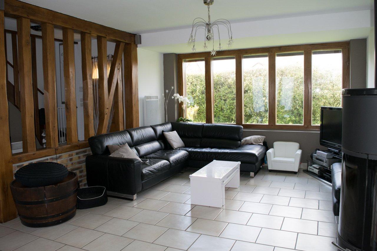 Lyons-la-Forêt 27480, maison récente 5 pièces + piscine