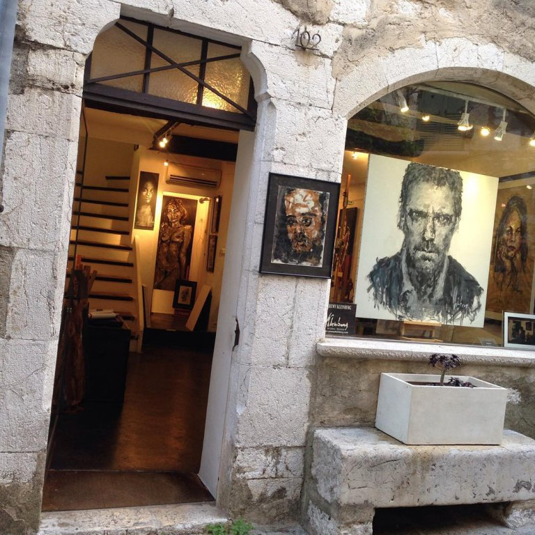 Art gallery in the main thoroughfare