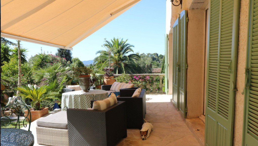 villa mougins beautiful panoramic view