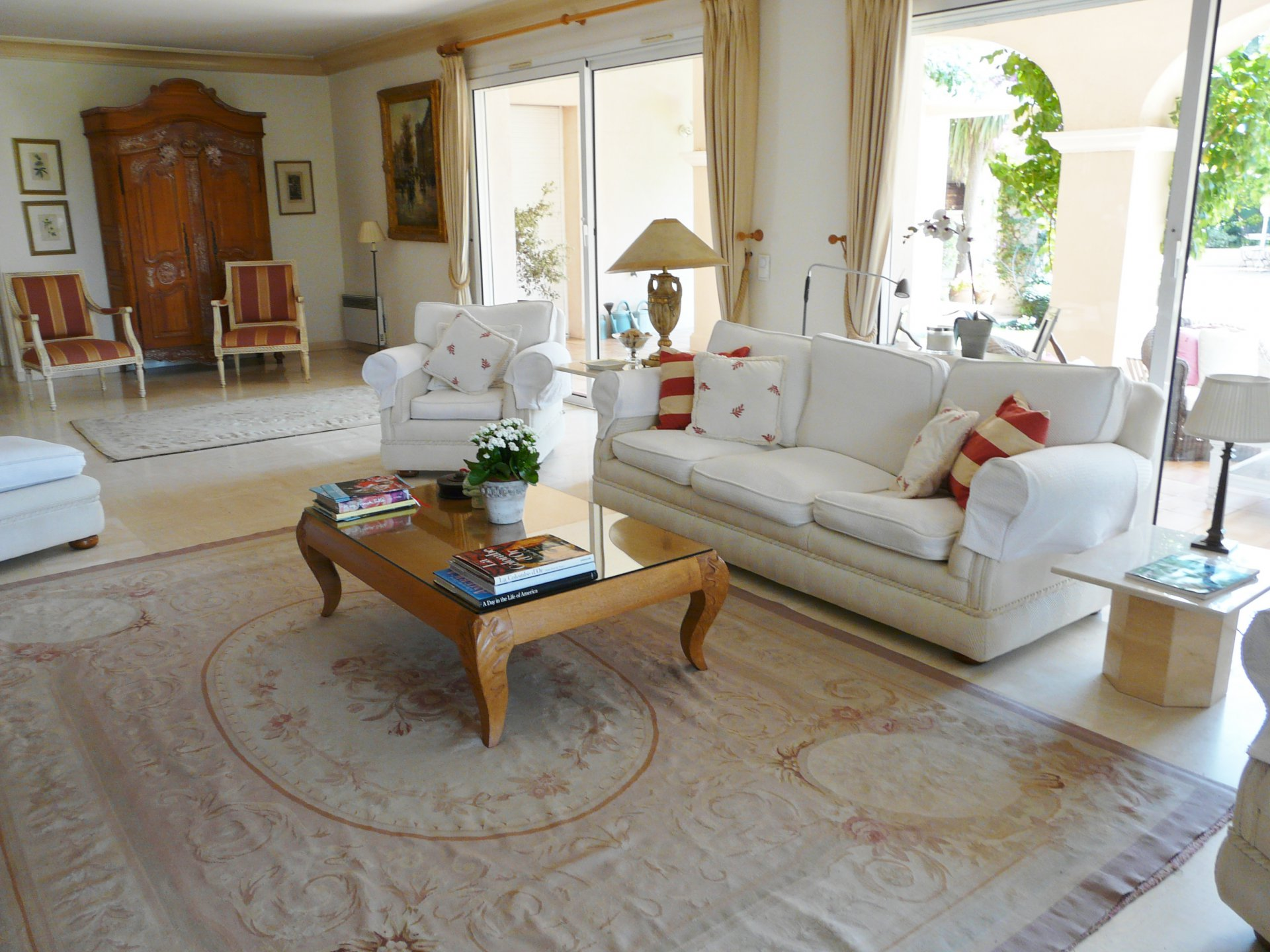 Living-room, natural light