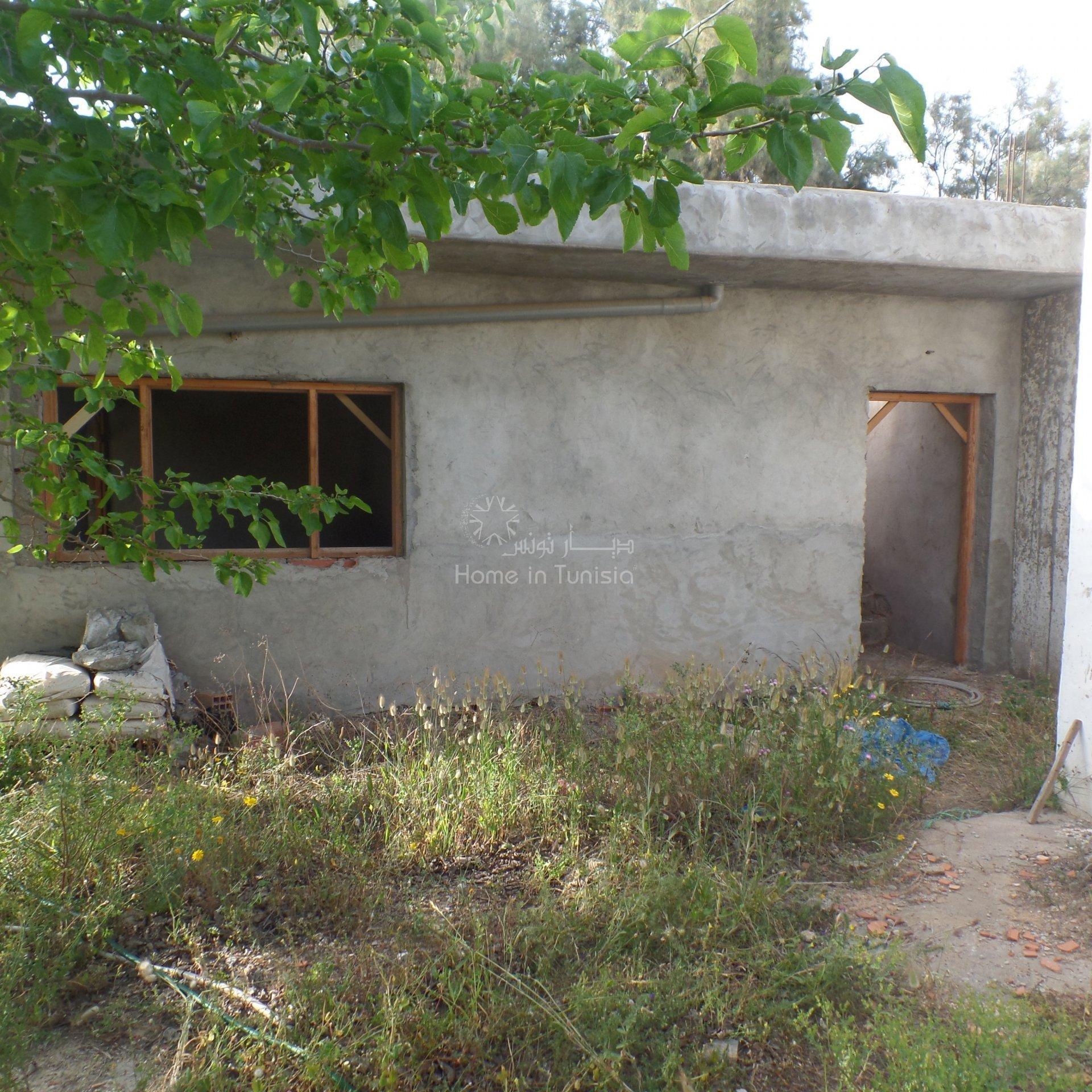 Hammamet nord terrain à vendre à 200 m de la mer  dans quartier résidentiel protégé