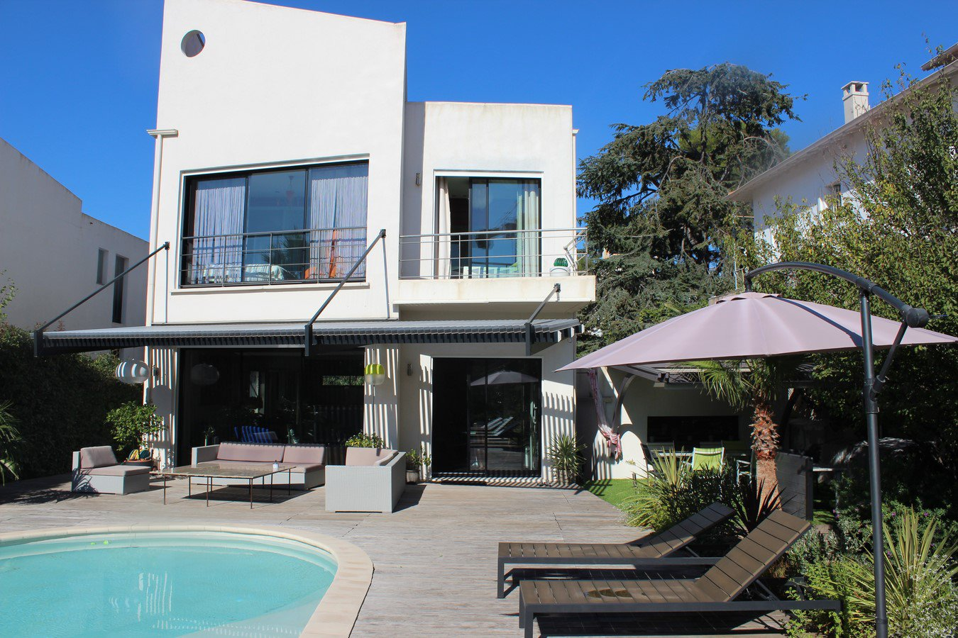 location congrès maison 4 chambres piscine