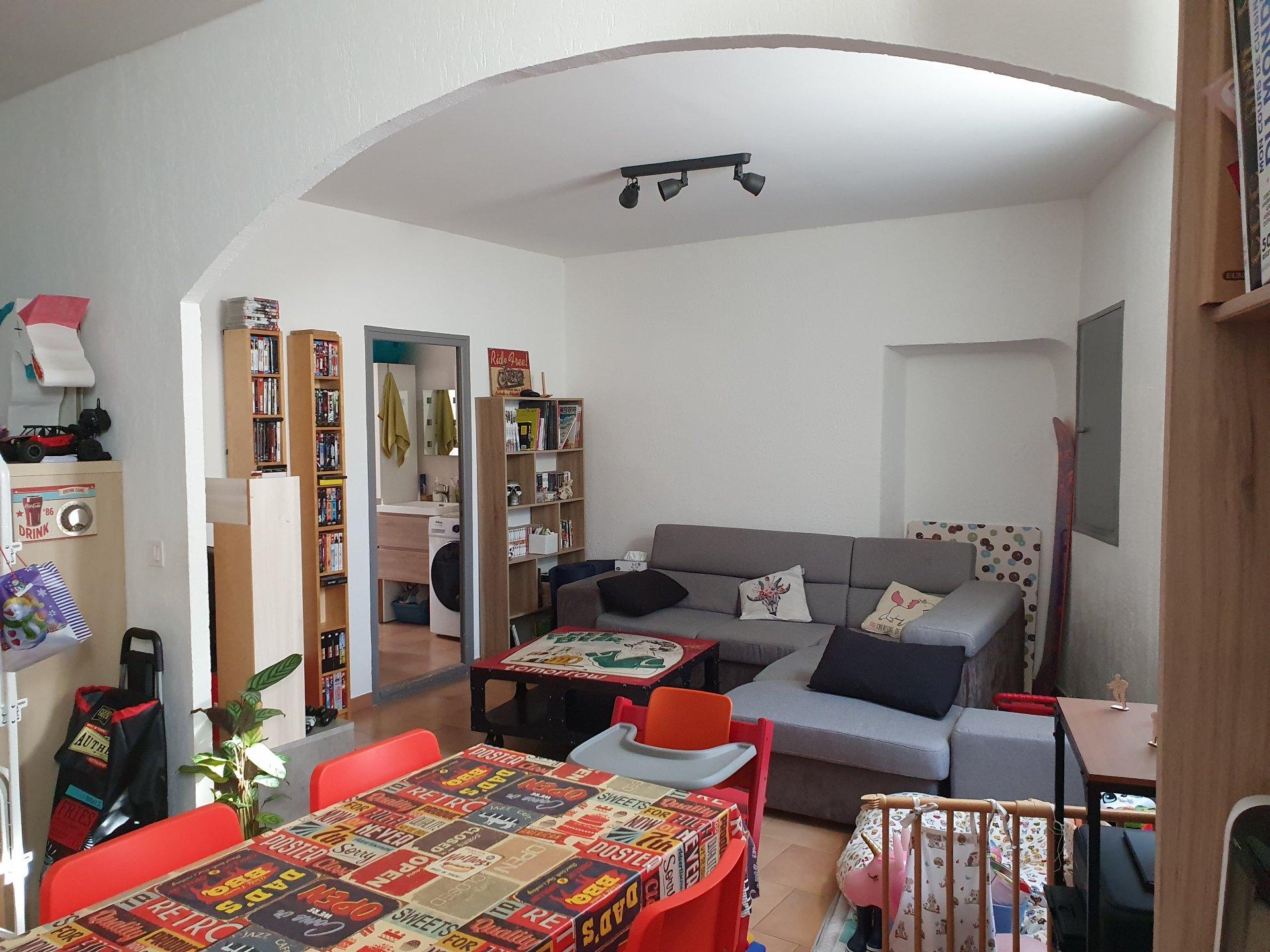 Appartement T3 avec garage et cave