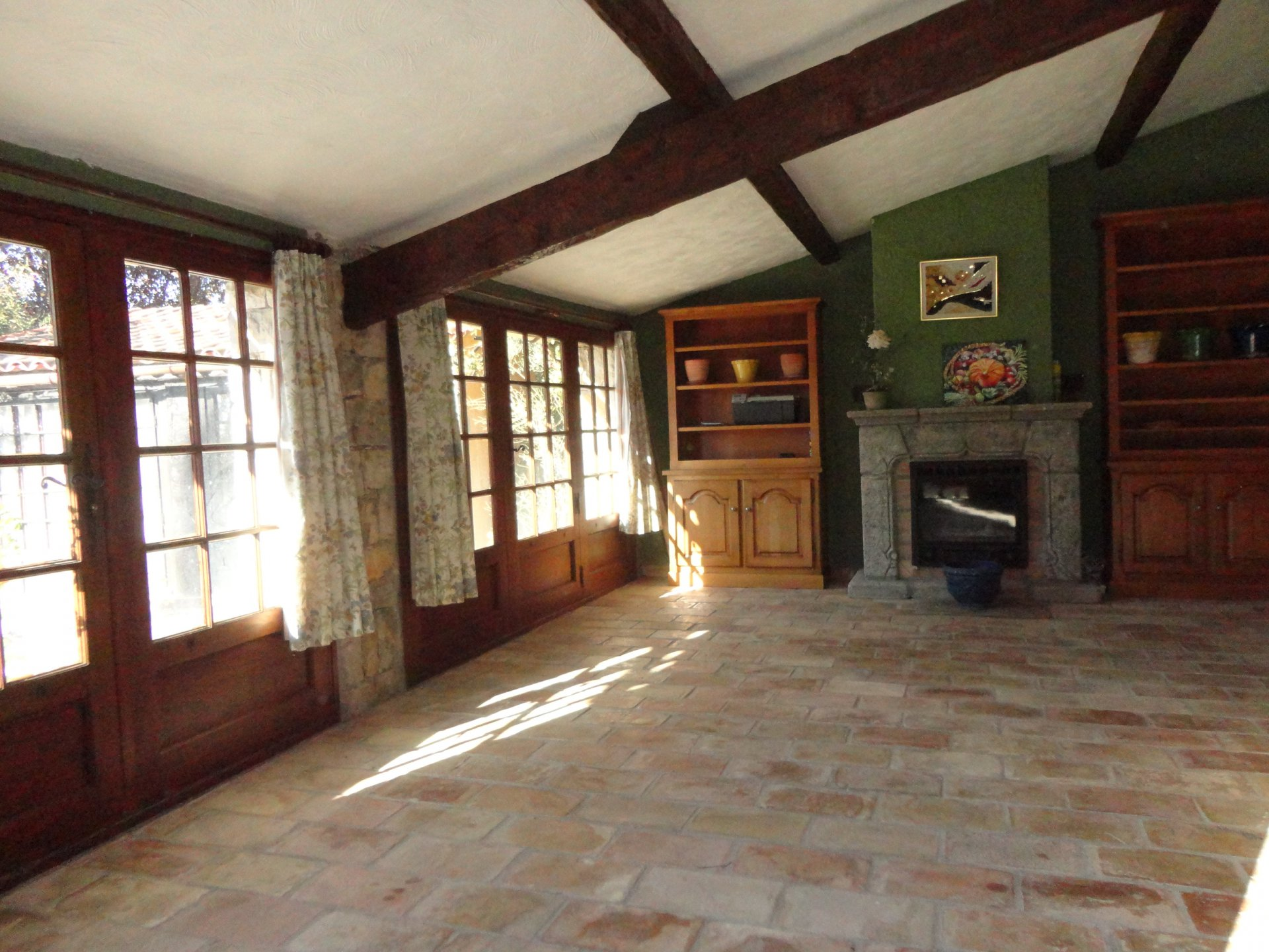 Montauroux: maison spacieuse avec belle vue