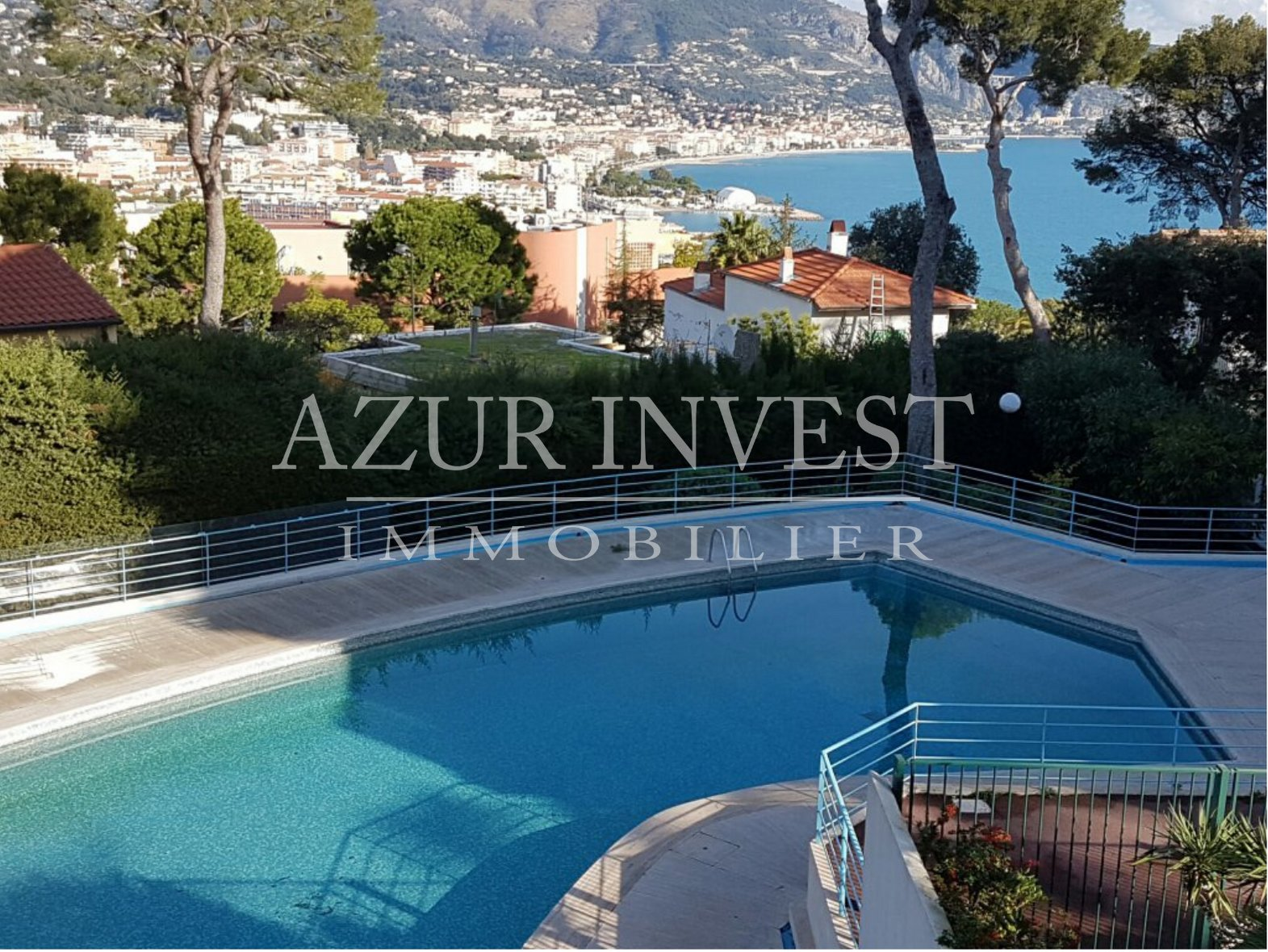 Spacious 3 rooms apartment sea view - Cap Martin