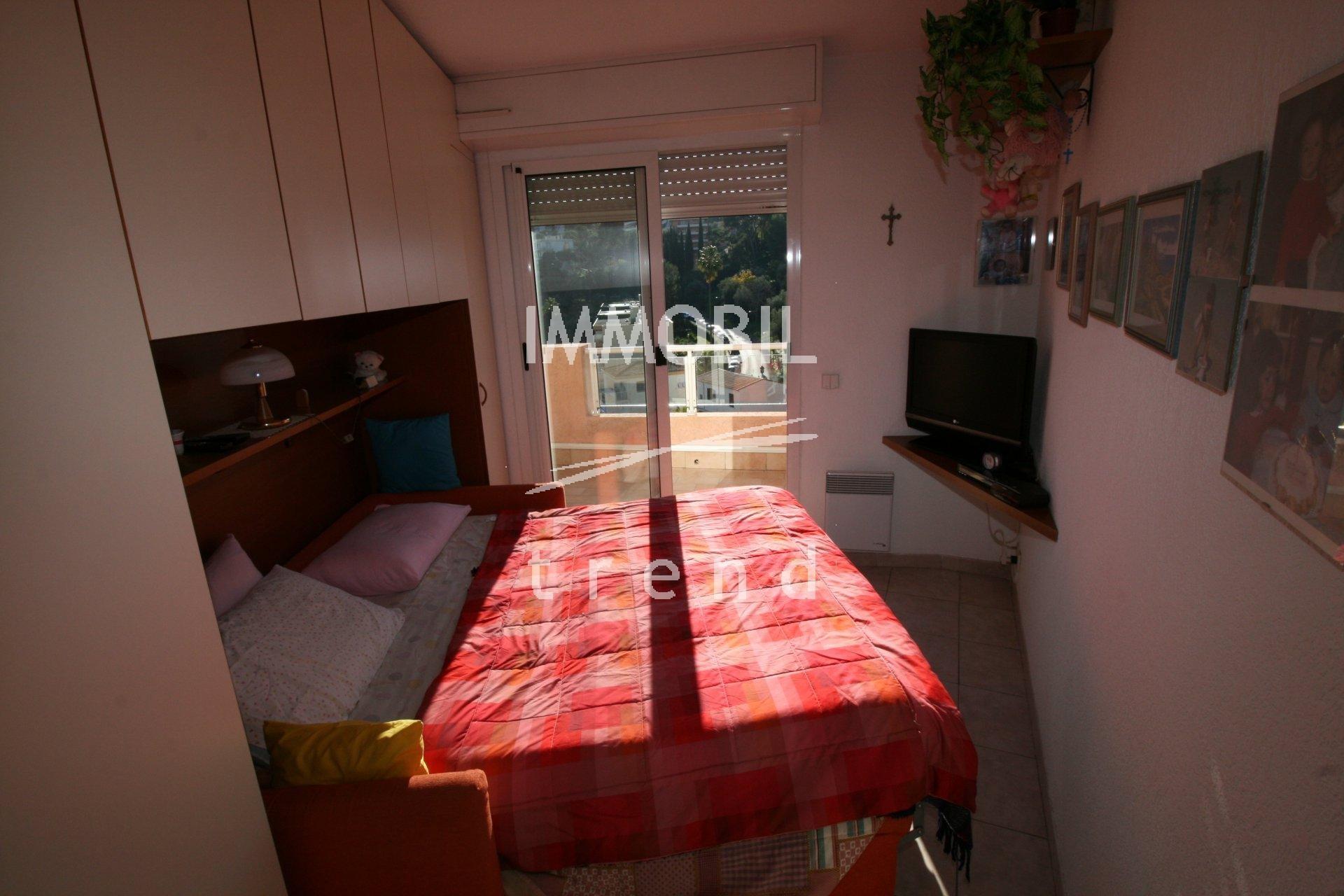 Roquebrune Cap Martin one room apartment View Sea