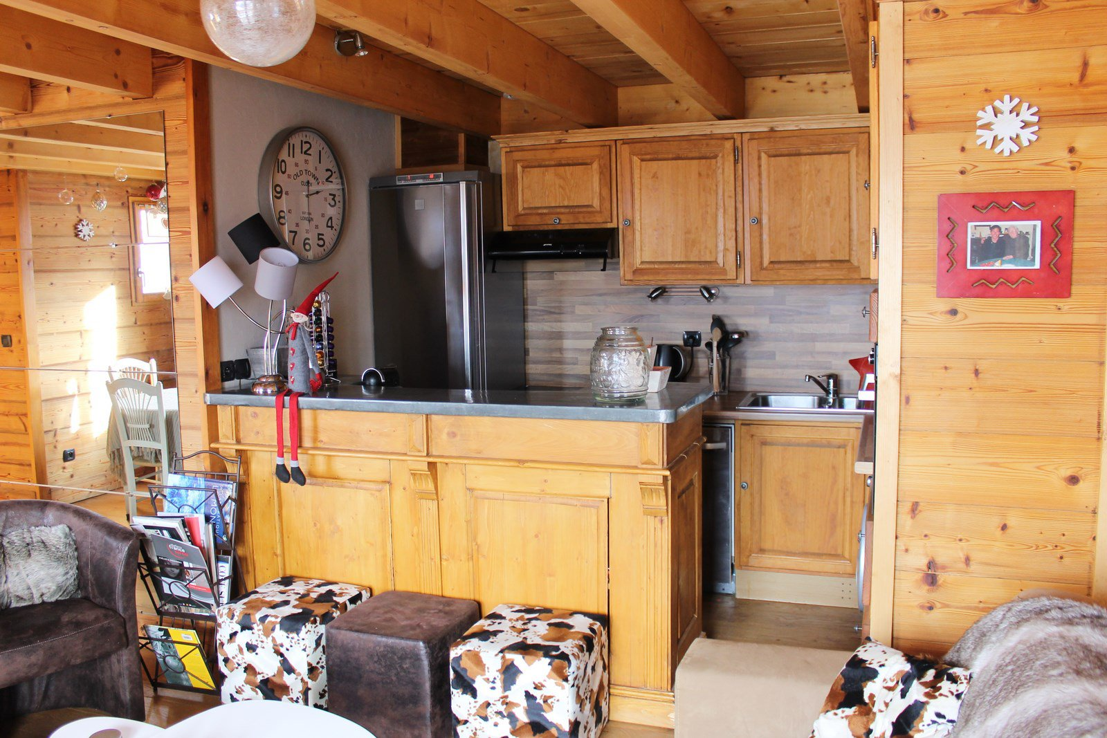 Seasonal rental Chalet - Isola 2000 Hameau