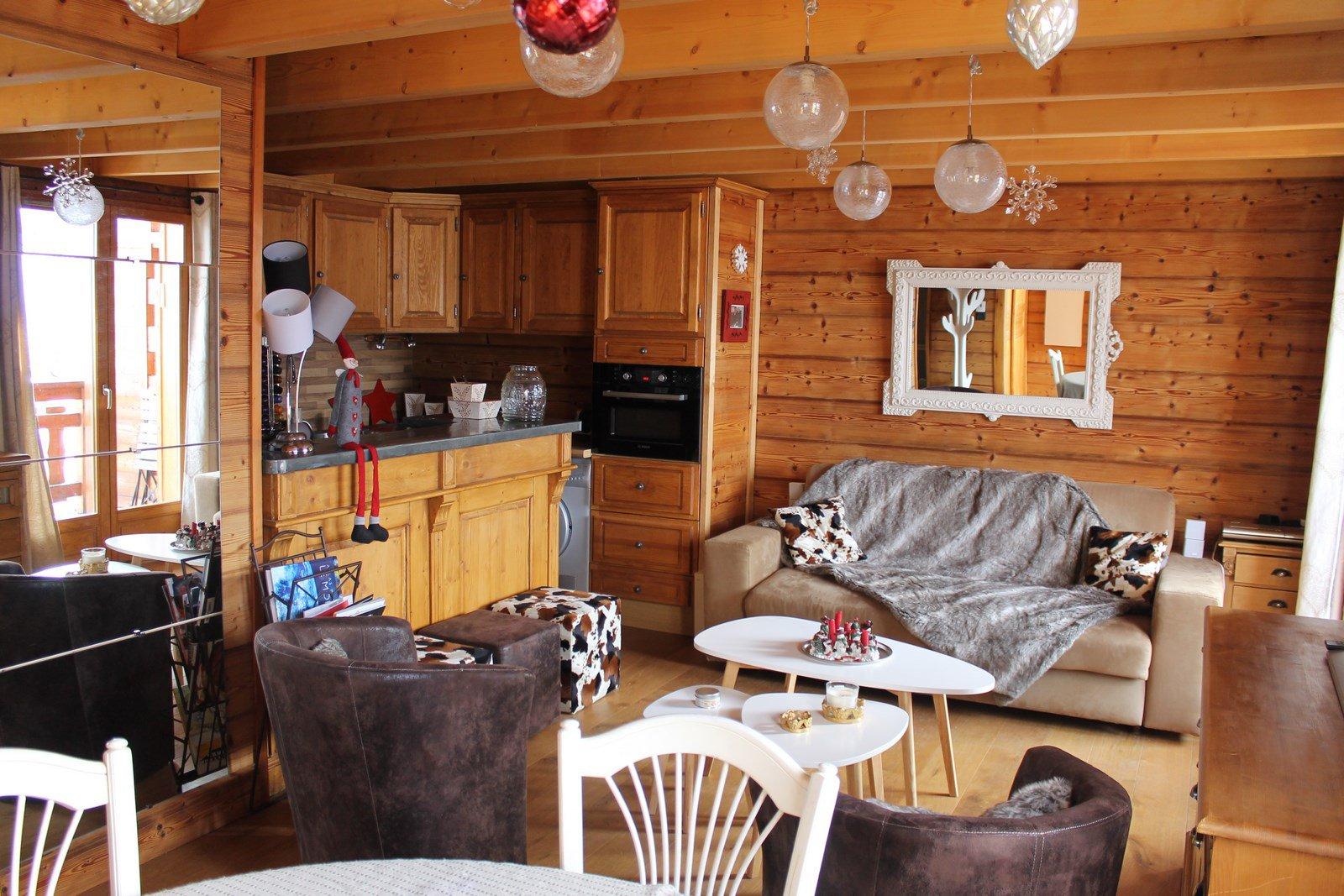 Seasonal rental Chalet - Isola 2000 Hameau