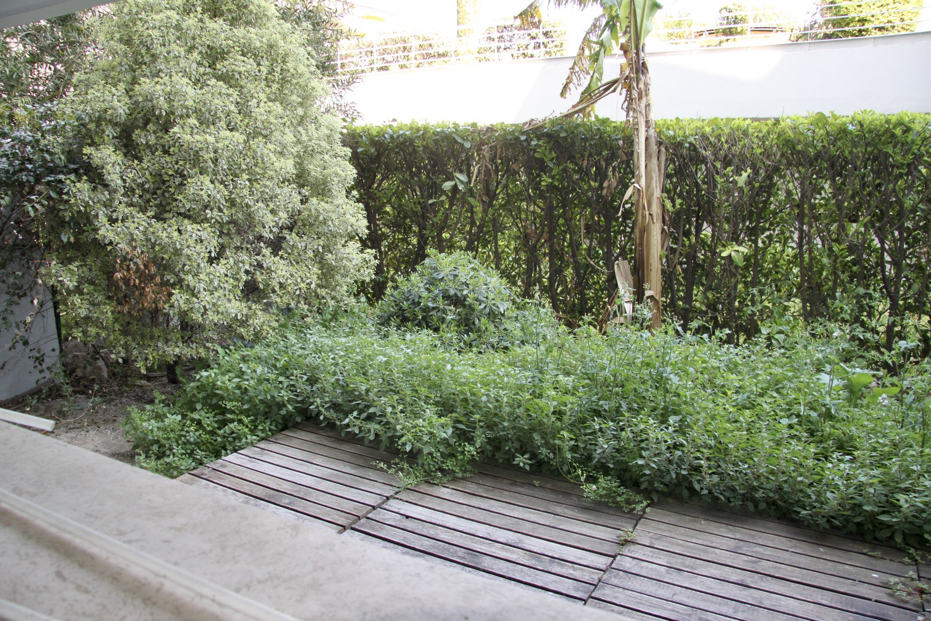 2 pièces en rez-de-jardin